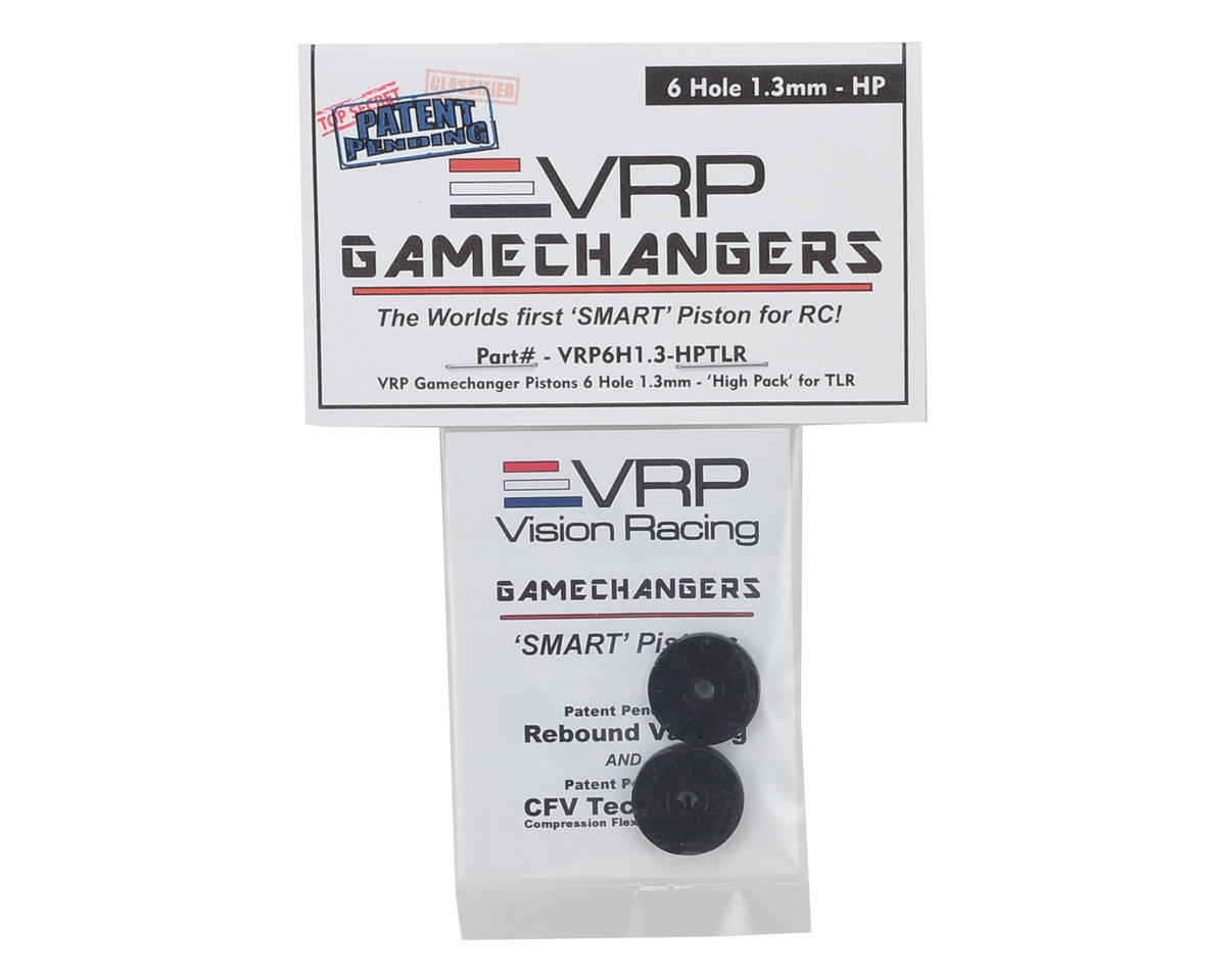 "VRP 8IGHT 1/8 ""Gamechanger"" Piston (2) (1.3mm x 6 Hole) (High Pack)"