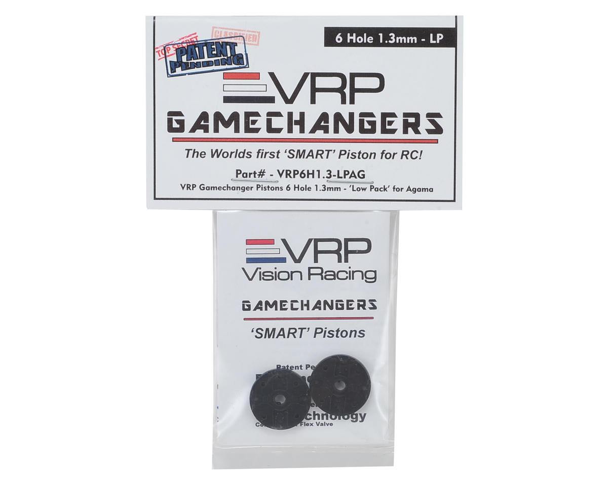 "VRP A215 1/8 ""Gamechanger"" Piston (2) (1.3mm x 6 Hole) (Low Pack)"