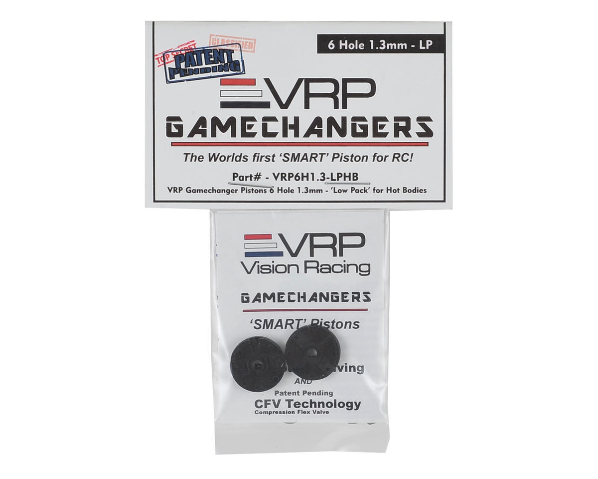 "VRP D815 1/8 ""Gamechanger"" Piston (2) (1.3mm x 6 Hole) (Low Pack)"
