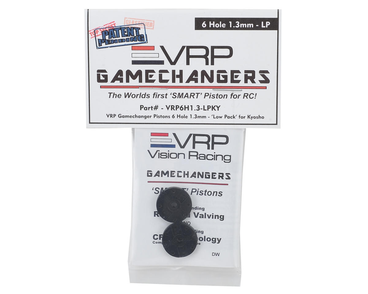 "VRP KYO/XRAY/Tekno 1/8 ""Gamechanger"" Piston (2) (1.3mm x 6 Hole) (Low Pack)"