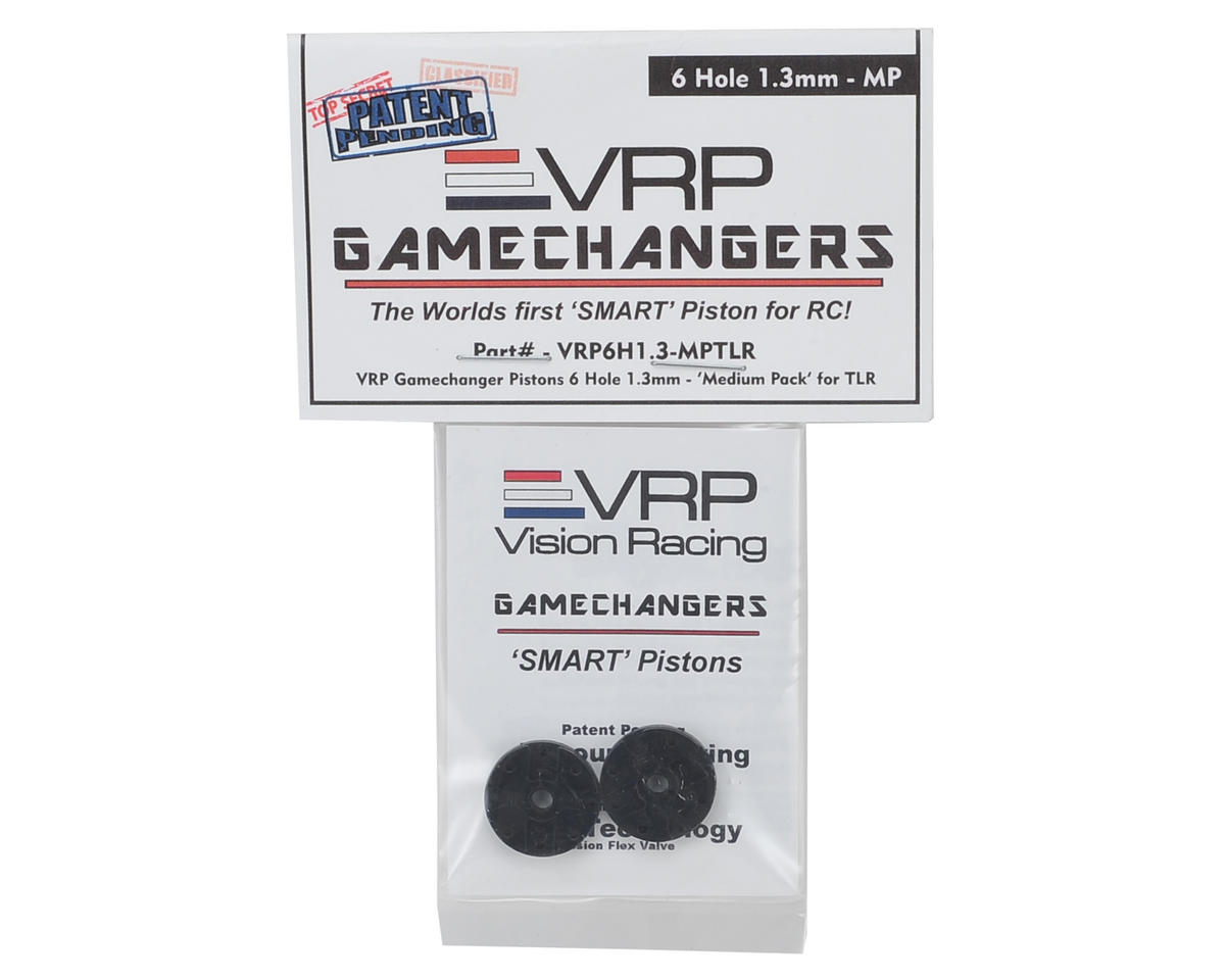 "VRP 8IGHT 1/8 ""Gamechanger"" Piston (2) (1.3mm x 6 Hole) (Medium Pack)"