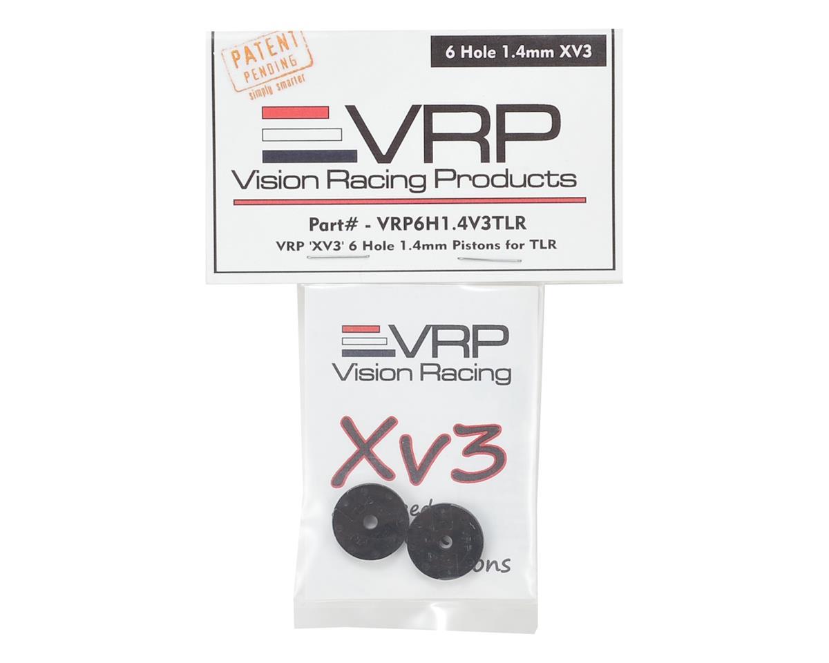 "VRP TLR 8IGHT 1/8 ""X V3"" Shock Piston (2) (1.4mm x 6 Hole)"