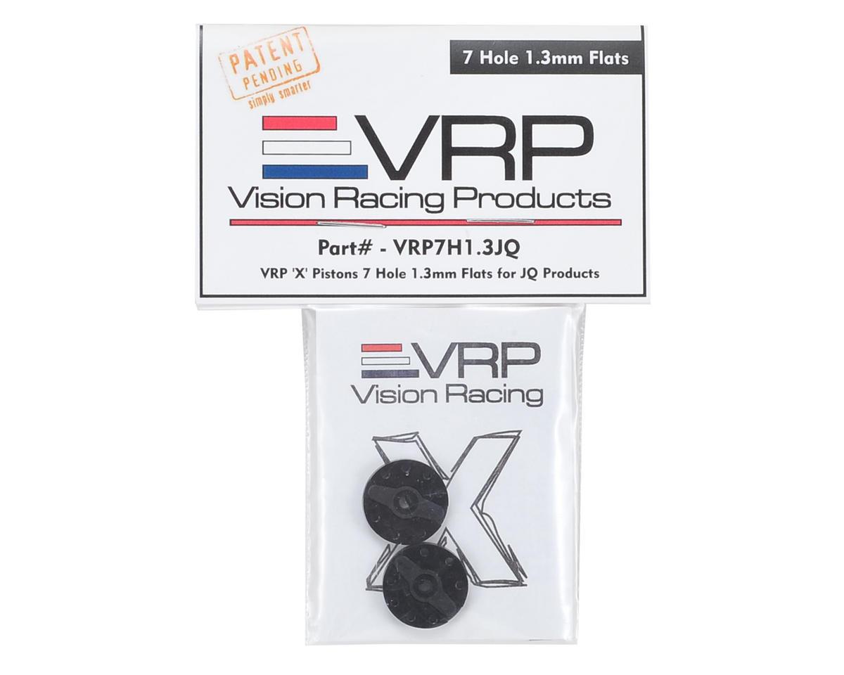 "VRP JQ Big Bore 1/8 ""X V2"" Shock Piston (2) (1.3mm x 7 Hole)"