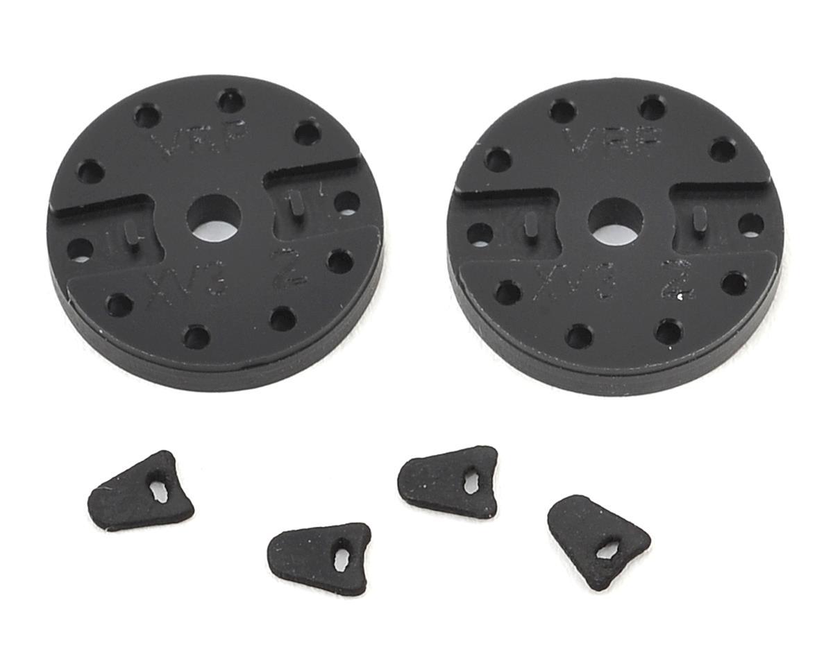 "VRP Mugen 1/8 ""X V3"" Shock Piston (2) (1.2mm x 8 Hole)"