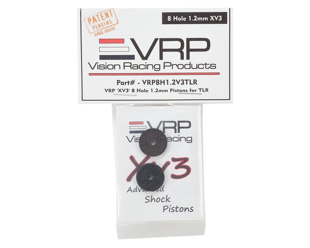 "VRP TLR 8IGHT 1/8 ""X V3"" Shock Piston (2) (1.2mm x 8 Hole)"
