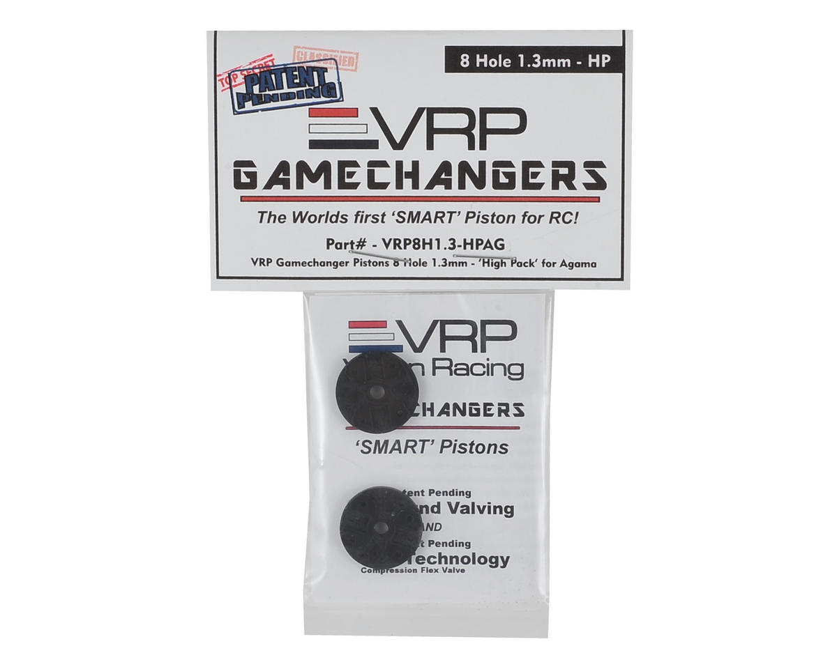 "VRP A215 1/8 ""Gamechanger"" Piston (2) (1.3mm x 8 Hole) (High Pack)"