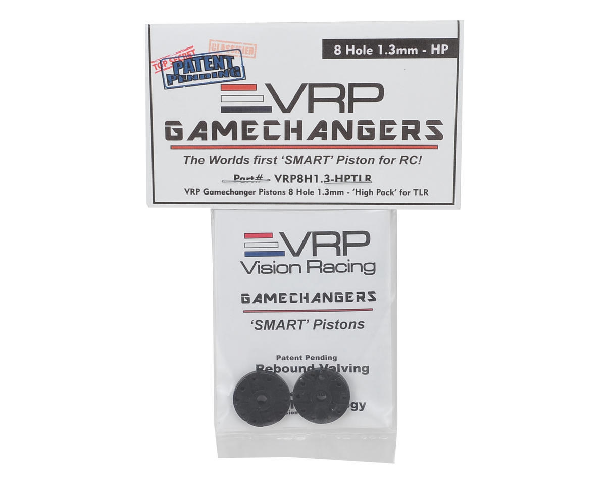"VRP 8IGHT 1/8 ""Gamechanger"" Piston (2) (1.3mm x 8 Hole) (High Pack)"