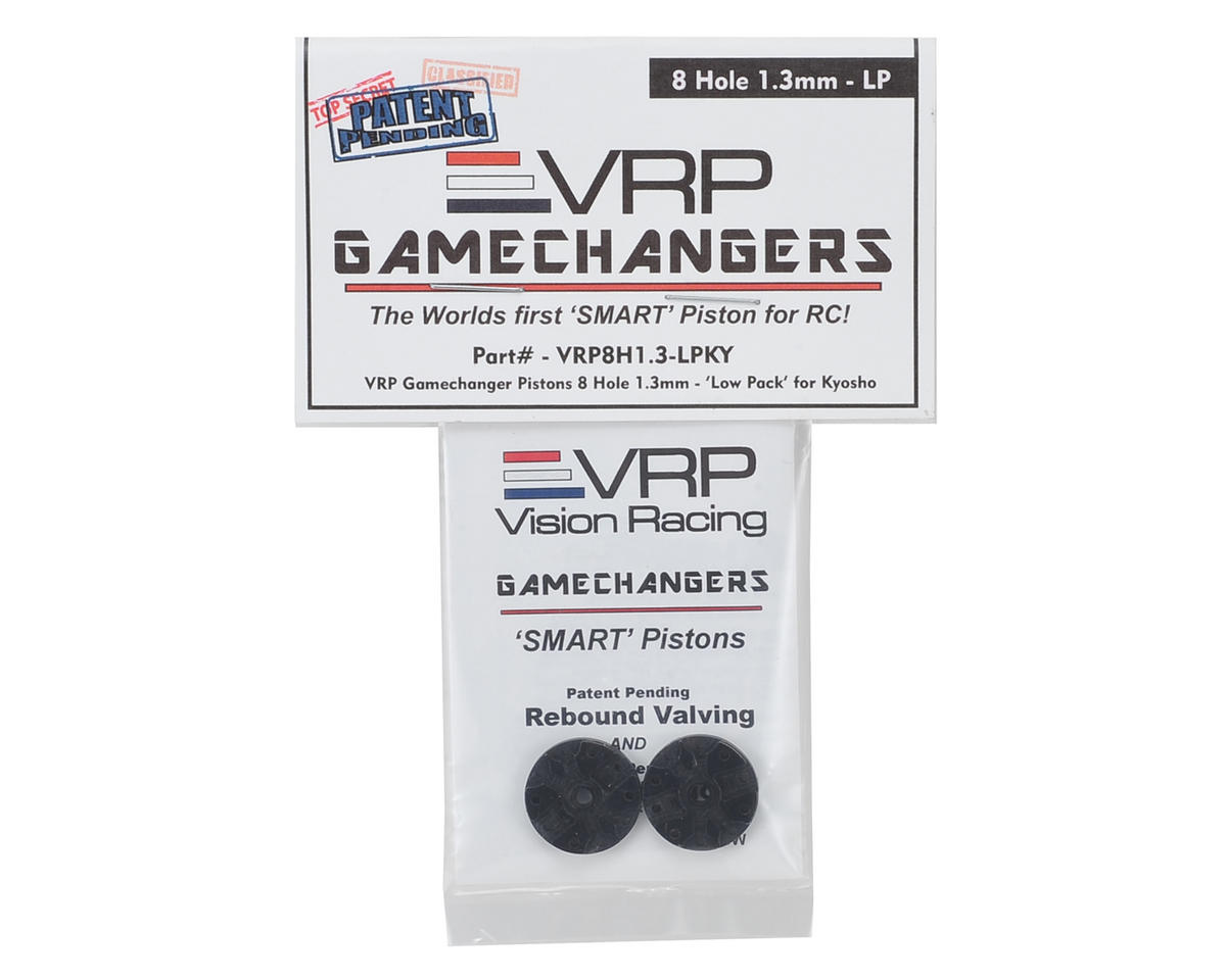 "VRP KYO/XRAY/Tekno 1/8 ""Gamechanger"" Piston (2) (1.3mm x 8 Hole) (Low Pack)"