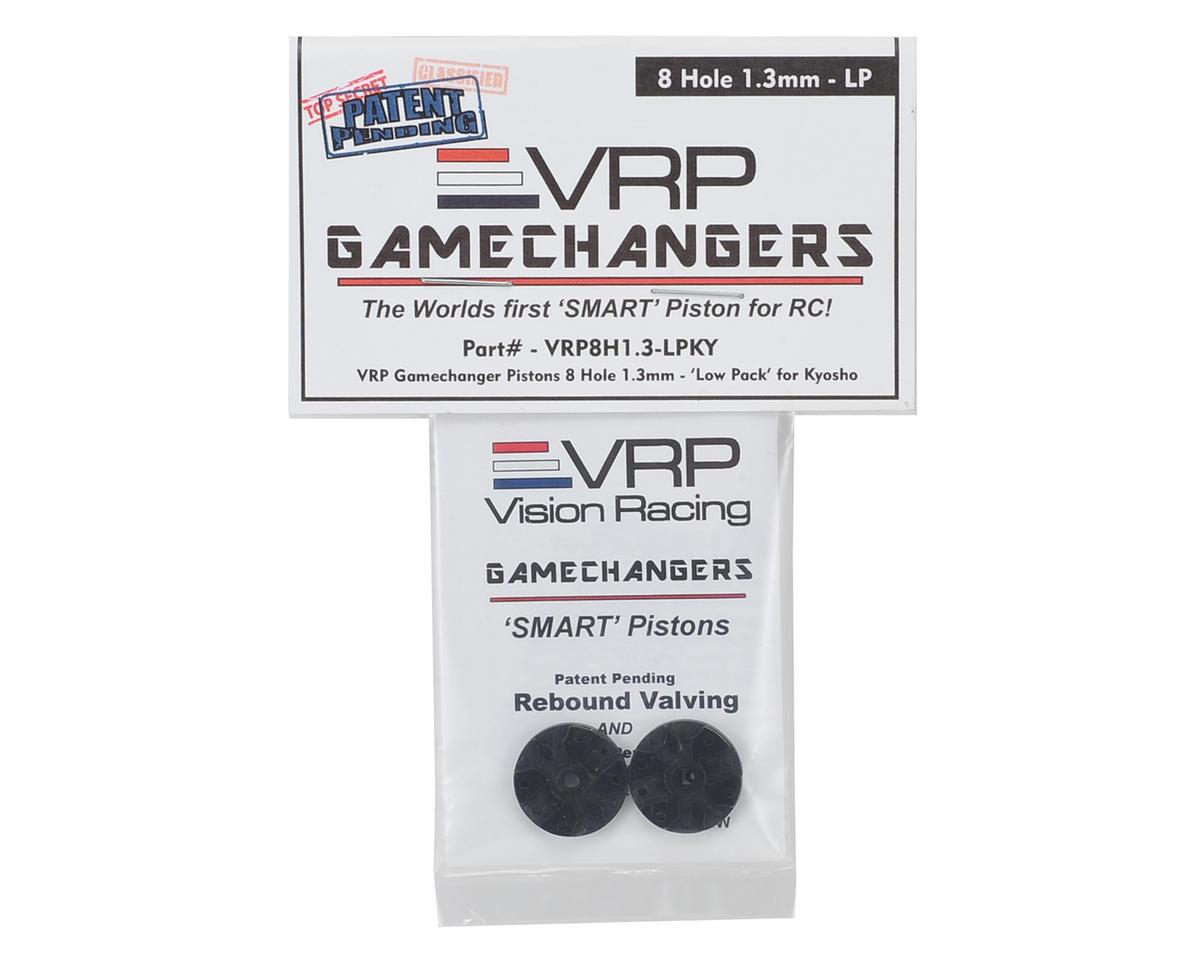 "VRP KYO/XRAY/Tekno 1/8 ""Gamechanger"" Piston (2) (1.3mm x 8 Hole) (Low Pack)"