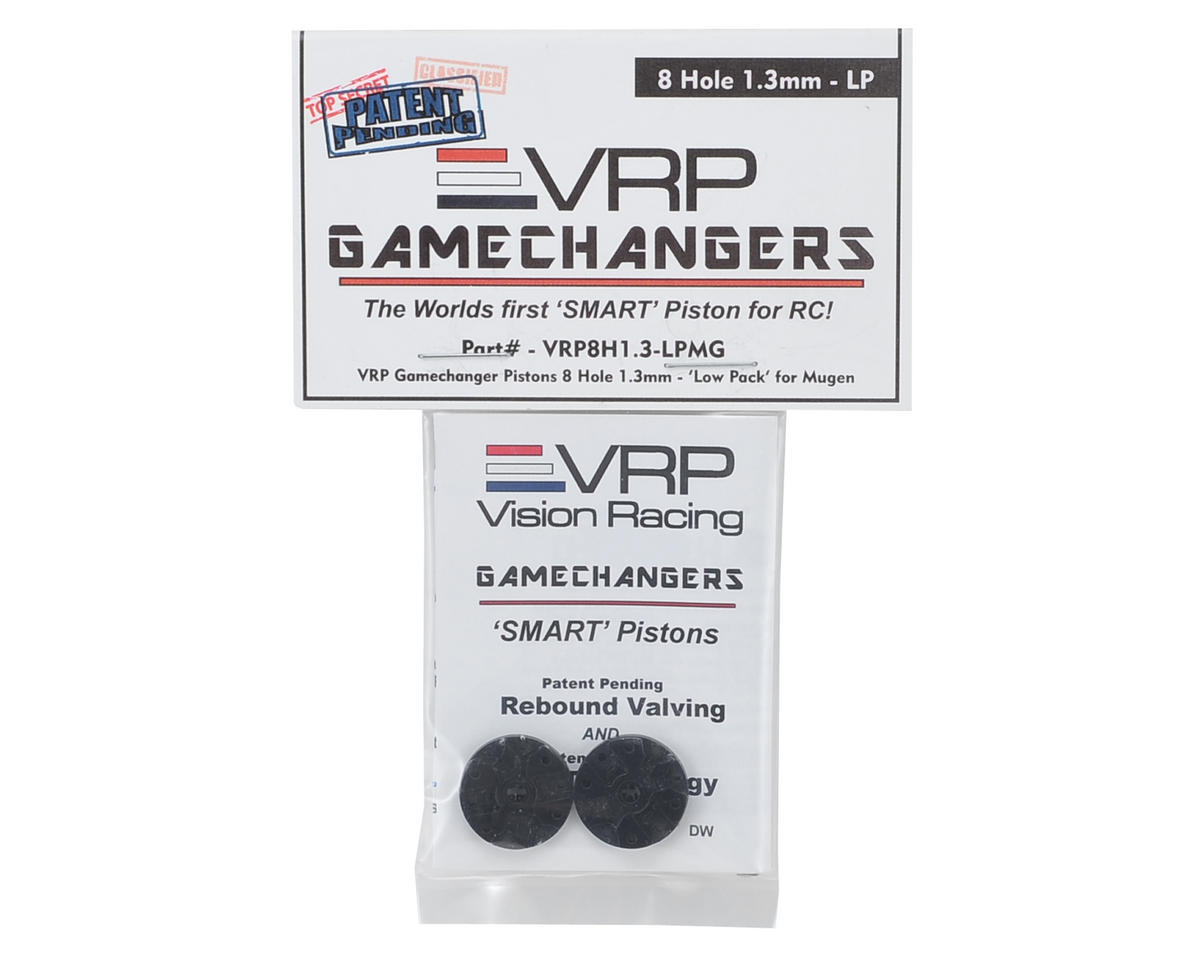 "VRP Mugen 1/8 ""Gamechanger"" Piston (2) (1.3mm x 8 Hole) (Low Pack)"