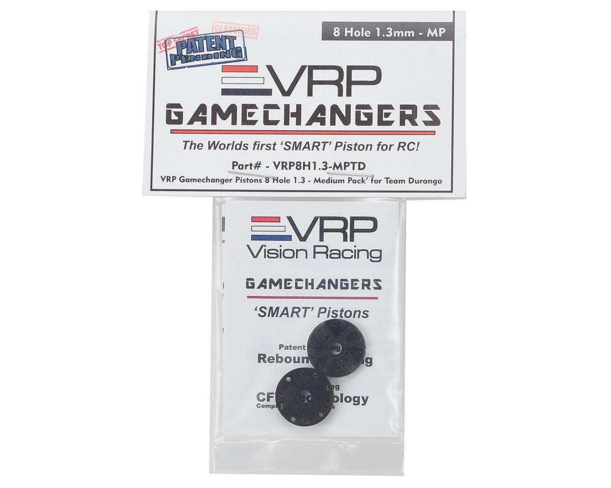"VRP Team Durango 1/8 ""Gamechanger"" Piston (2) (1.3mm x 8 Hole) (Medium Pack)"