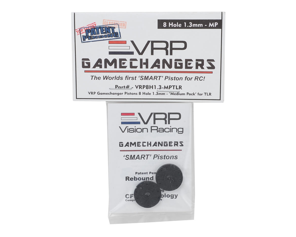 "VRP 8IGHT 1/8 ""Gamechanger"" Piston (2) (1.3mm x 8 Hole) (Medium Pack)"