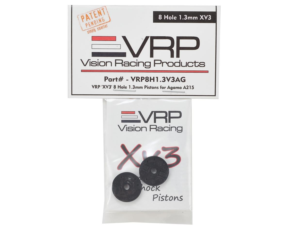 "VRP Agama A218 1/8 ""X V3"" Shock Piston (2) (1.3mm x 8 Hole)"