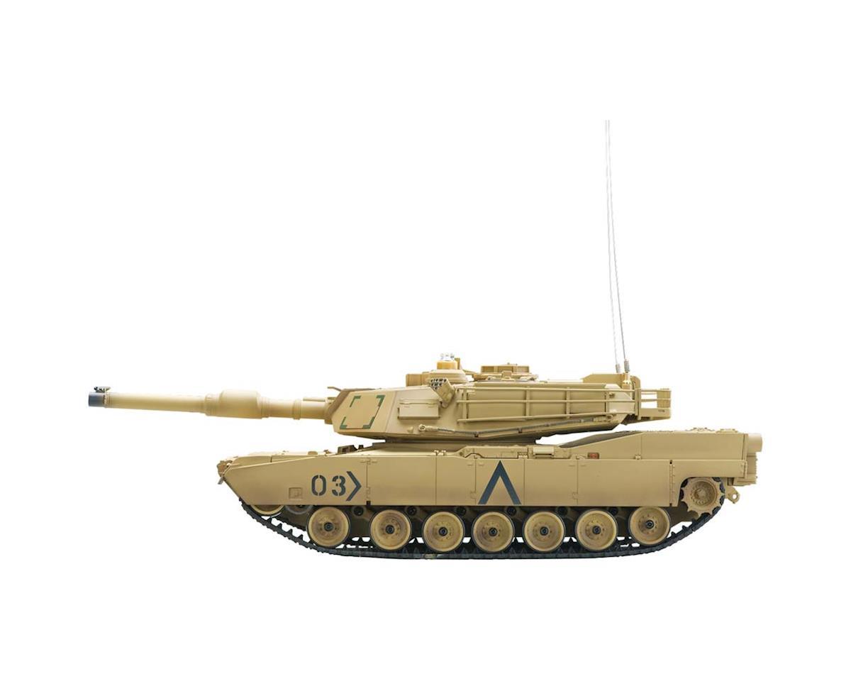 A03102992 1/24 M1A2 Abrams IR Battle Tank Desert 2.4GHz