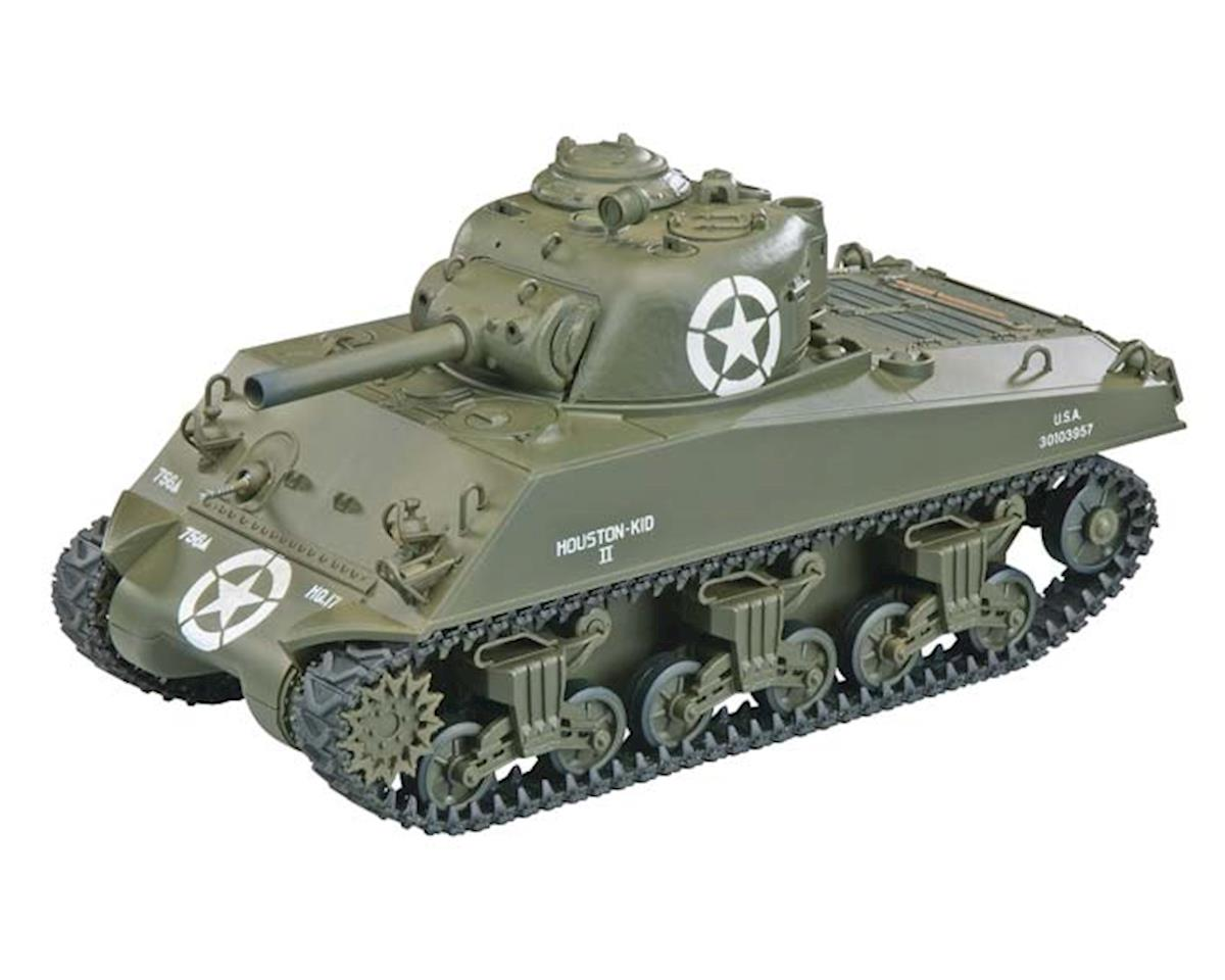 A03102995 1/24 M4 Sherman IR Battle Tank Green 2.4GHz