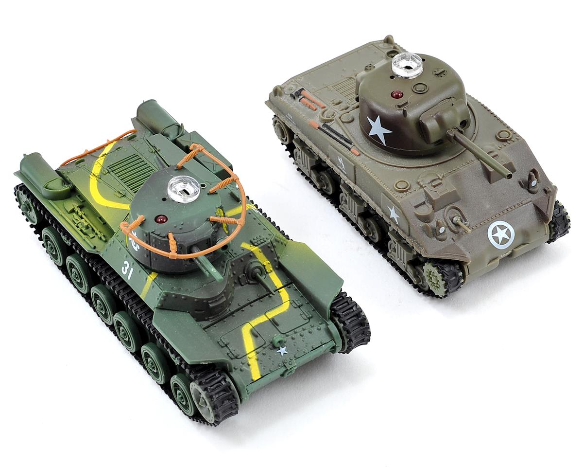 VS Tank VSX 1/72 Type 97/Sherman IR Battle Tank Set