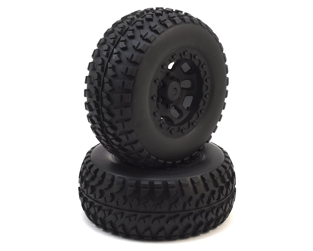 Vetta Racing 12mm Hex Karoo Pre-Mounted Tires (Black)
