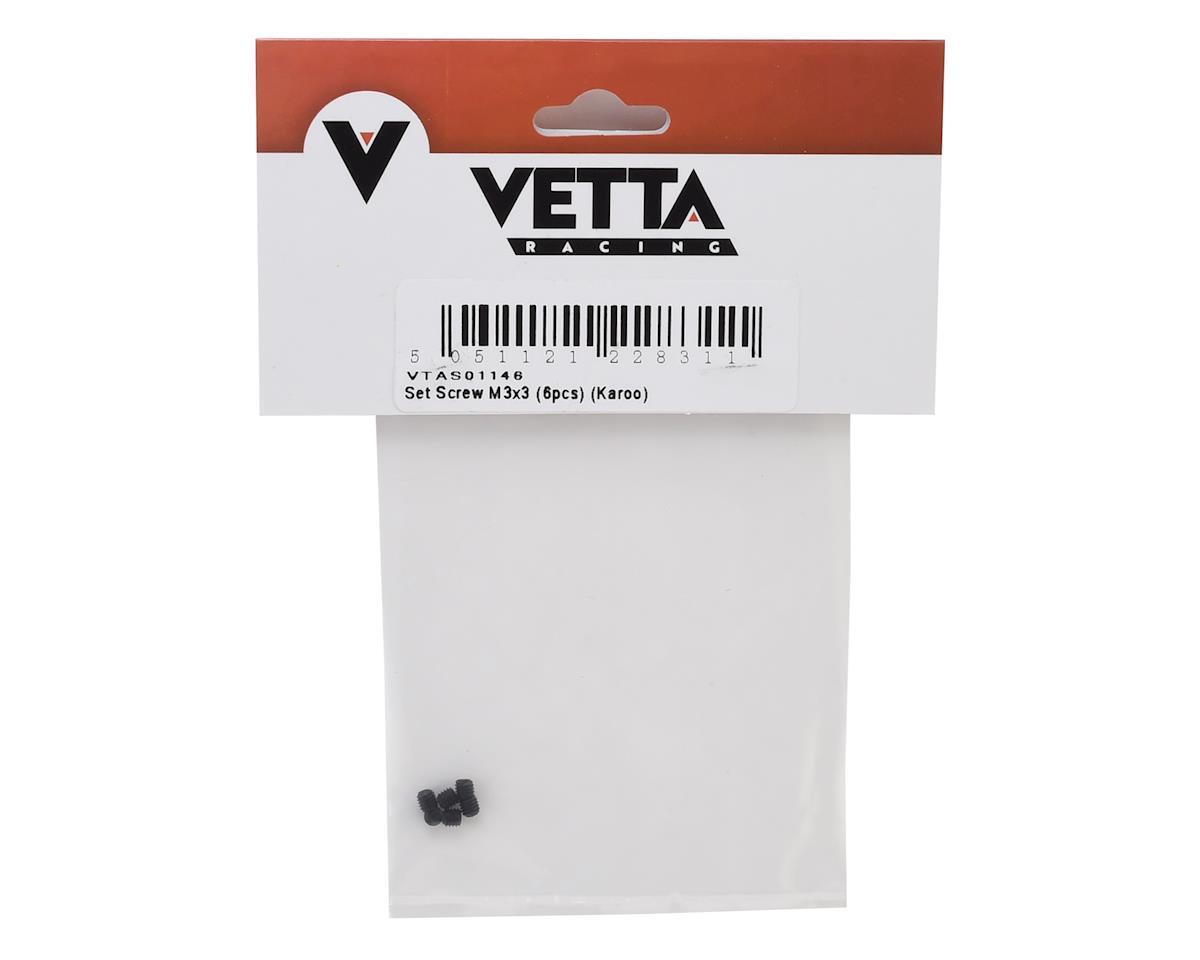 Vetta Racing Karoo 3x3mm Set Screw (6)