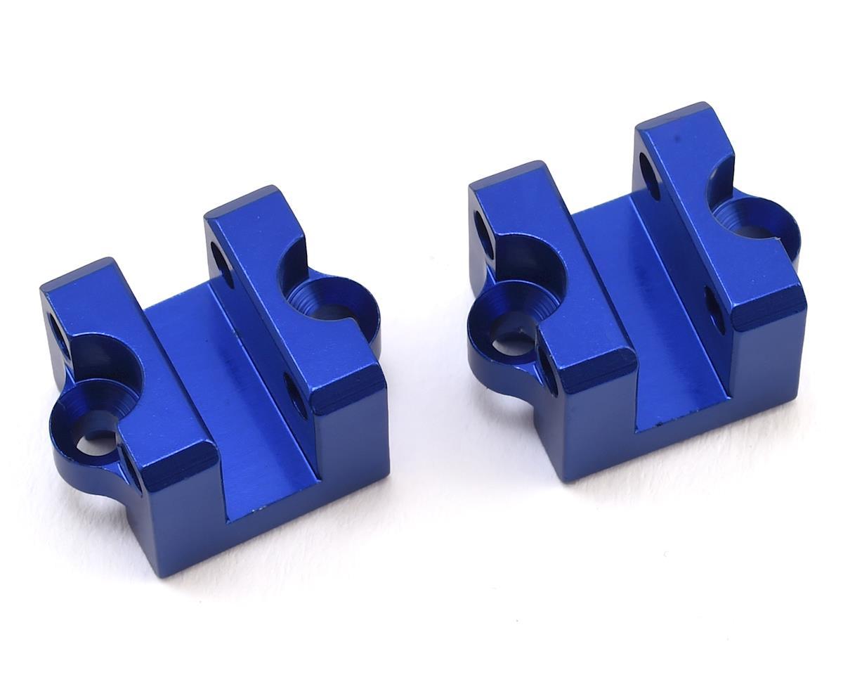 Karoo Aluminum Rear Holder (Blue) (2) (for Rear Shock Support Rod)