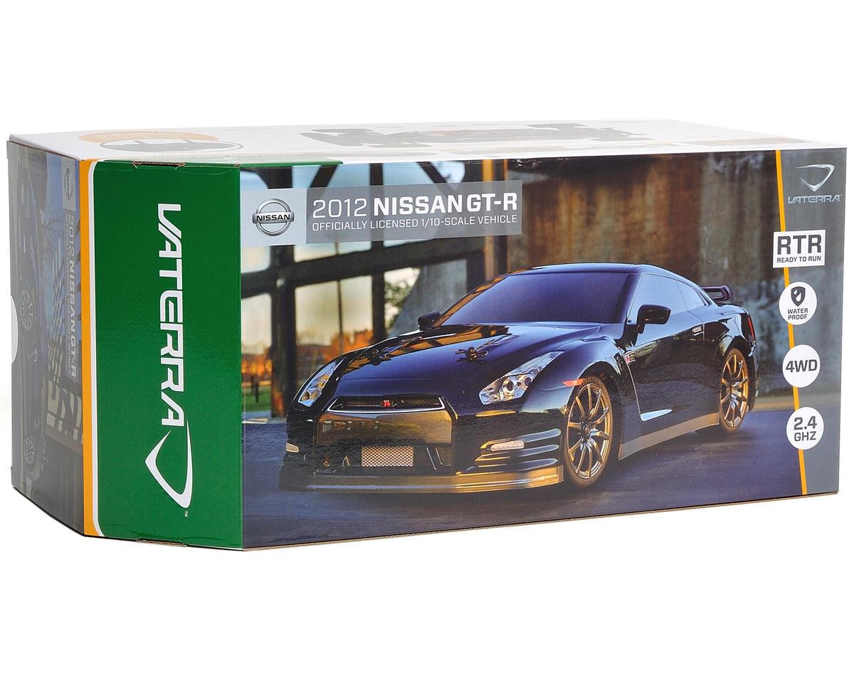 Vaterra 2012 Nissan GTR V100S 1/10 RTR w/DX2E 2.4GHz, NiMH Battery & Charger