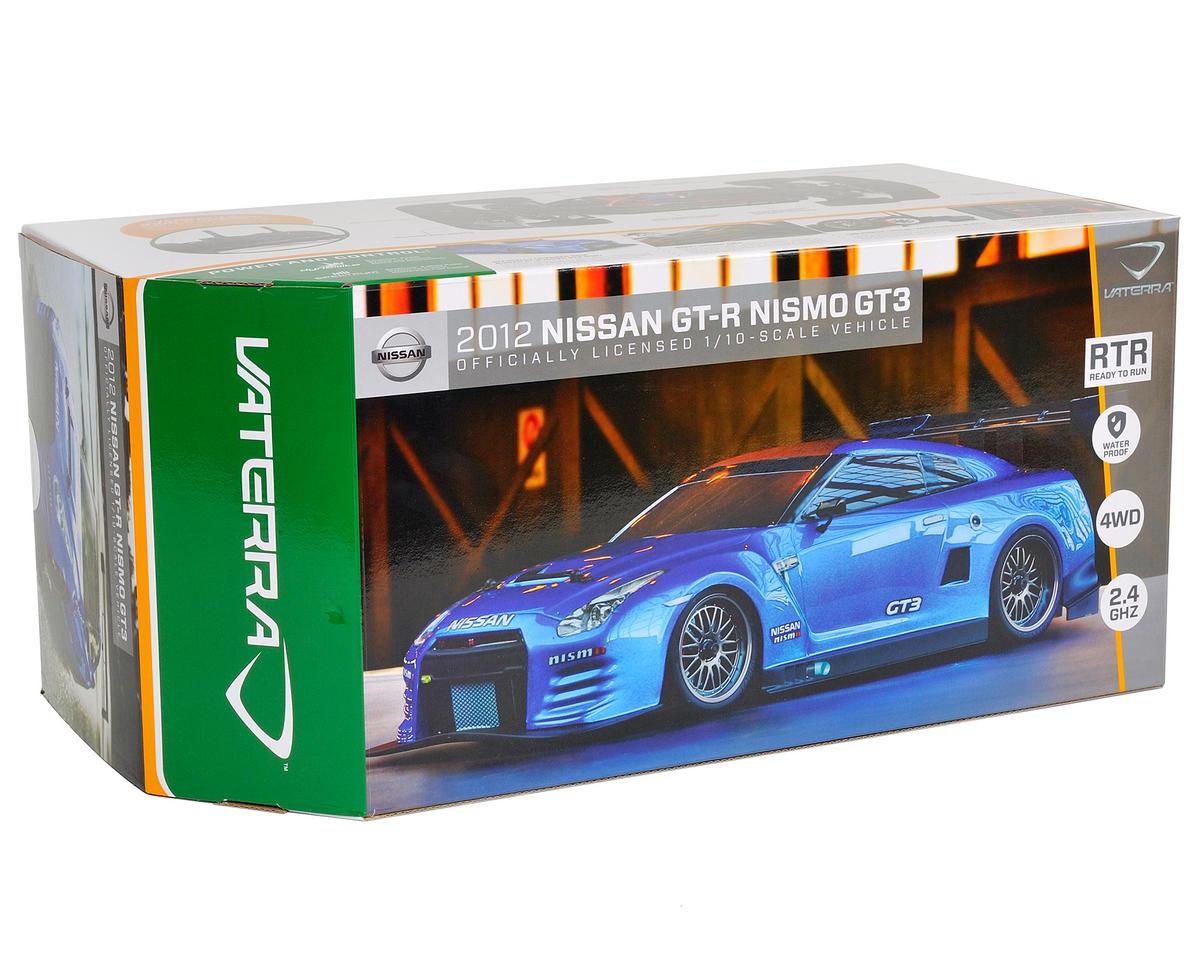 Vaterra 2012 Nissan GTR Nismo GT3 V100-C 1/10 RTR w/DX2E 2.4GHz, NiMH Battery & Charger