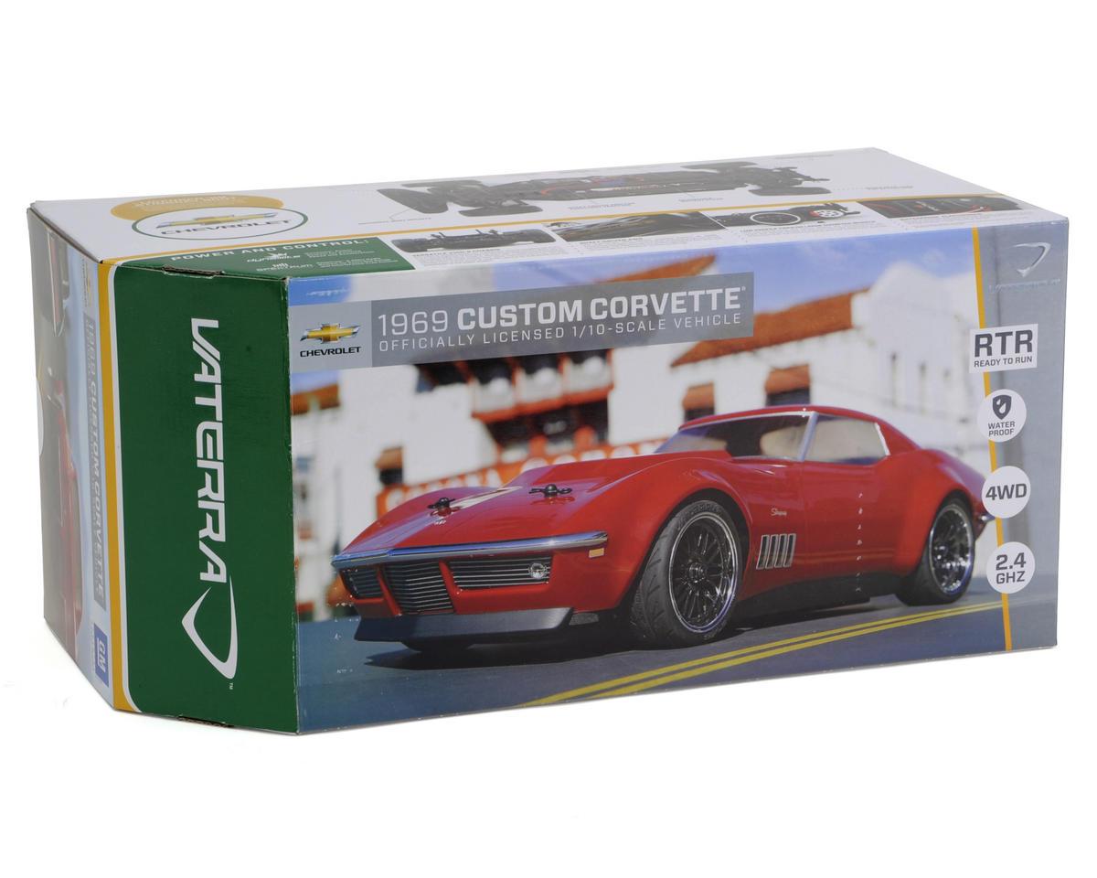 Vaterra 1969 Custom Corvette V100S 1/10 RTR