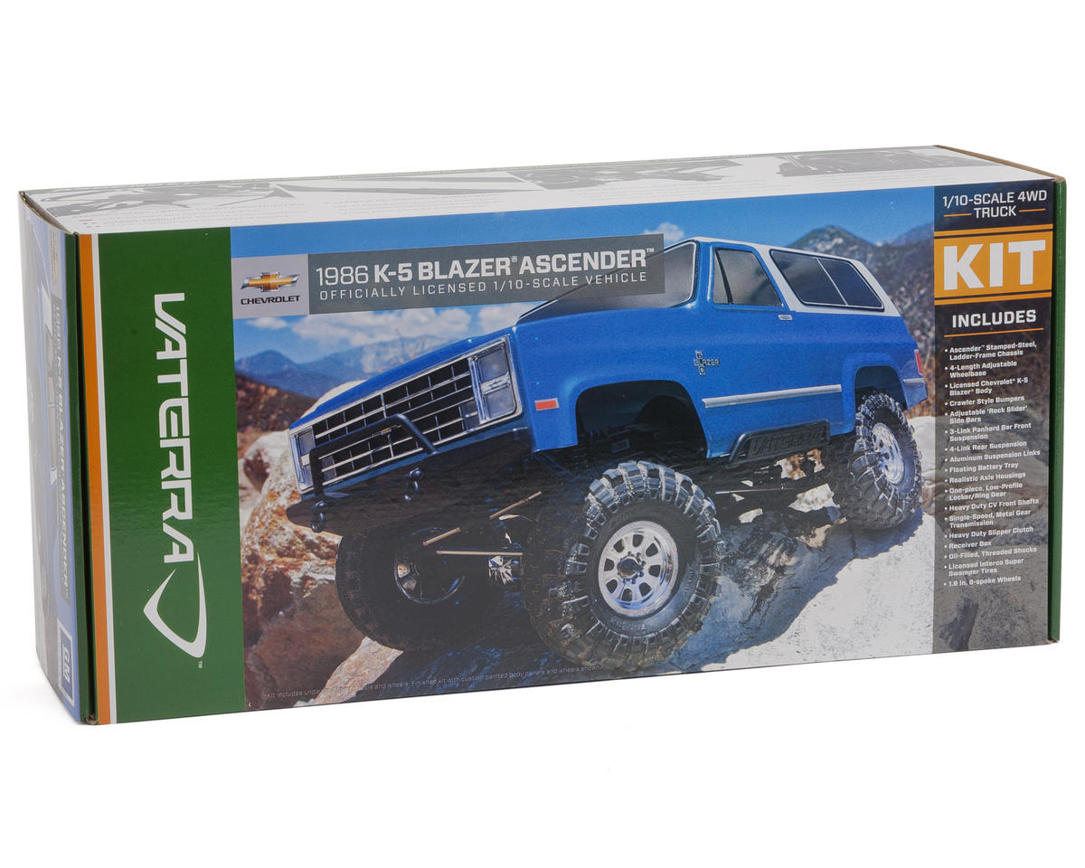 Vaterra Ascender 1986 Blazer K-5 Rock Crawler Kit