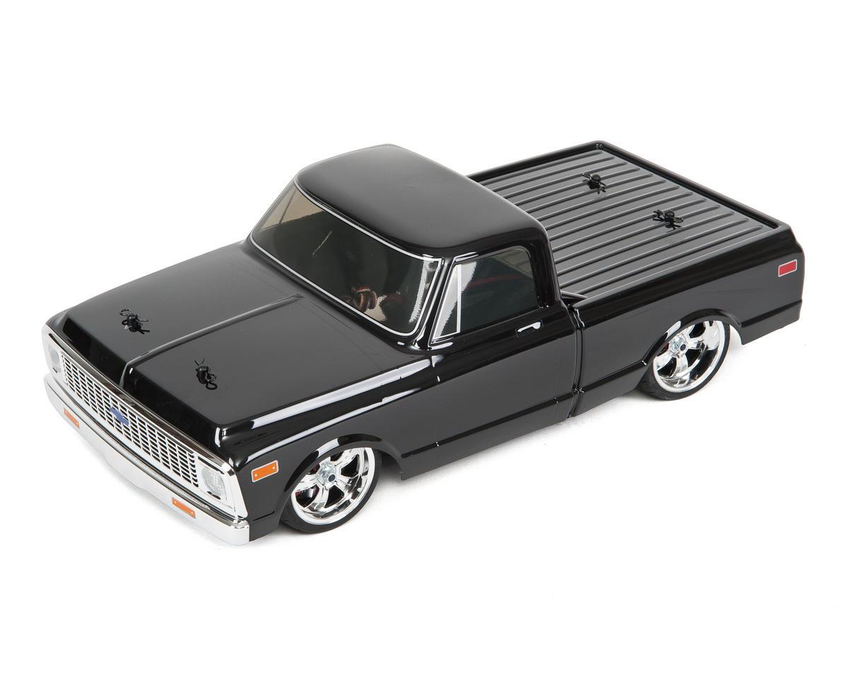 Vaterra 1972 Chevy C10 V100S RTR 1//10 4WD Electric Pickup Truck Black