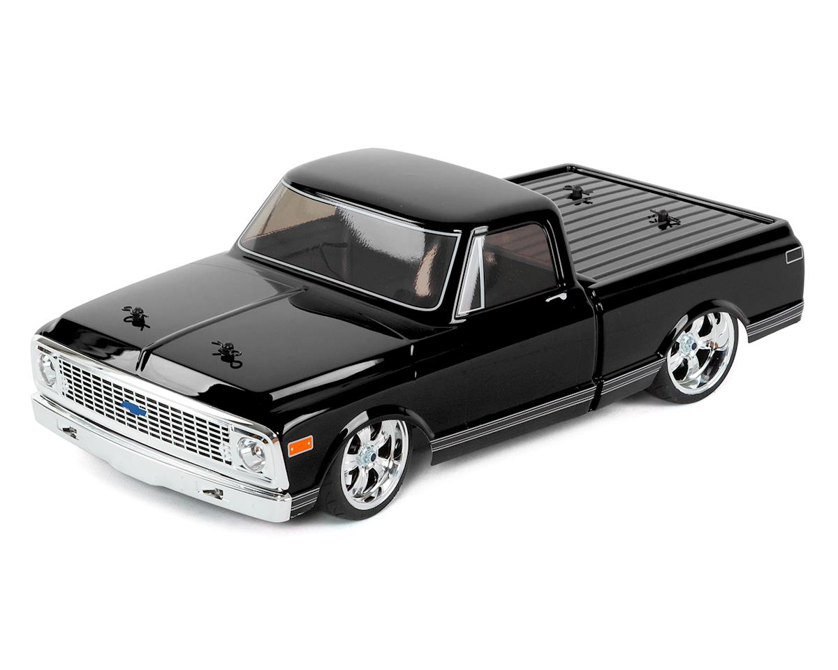 1972 Chevy C10 V100S RTR 1/10 4WD Electric Pickup Truck (Black)