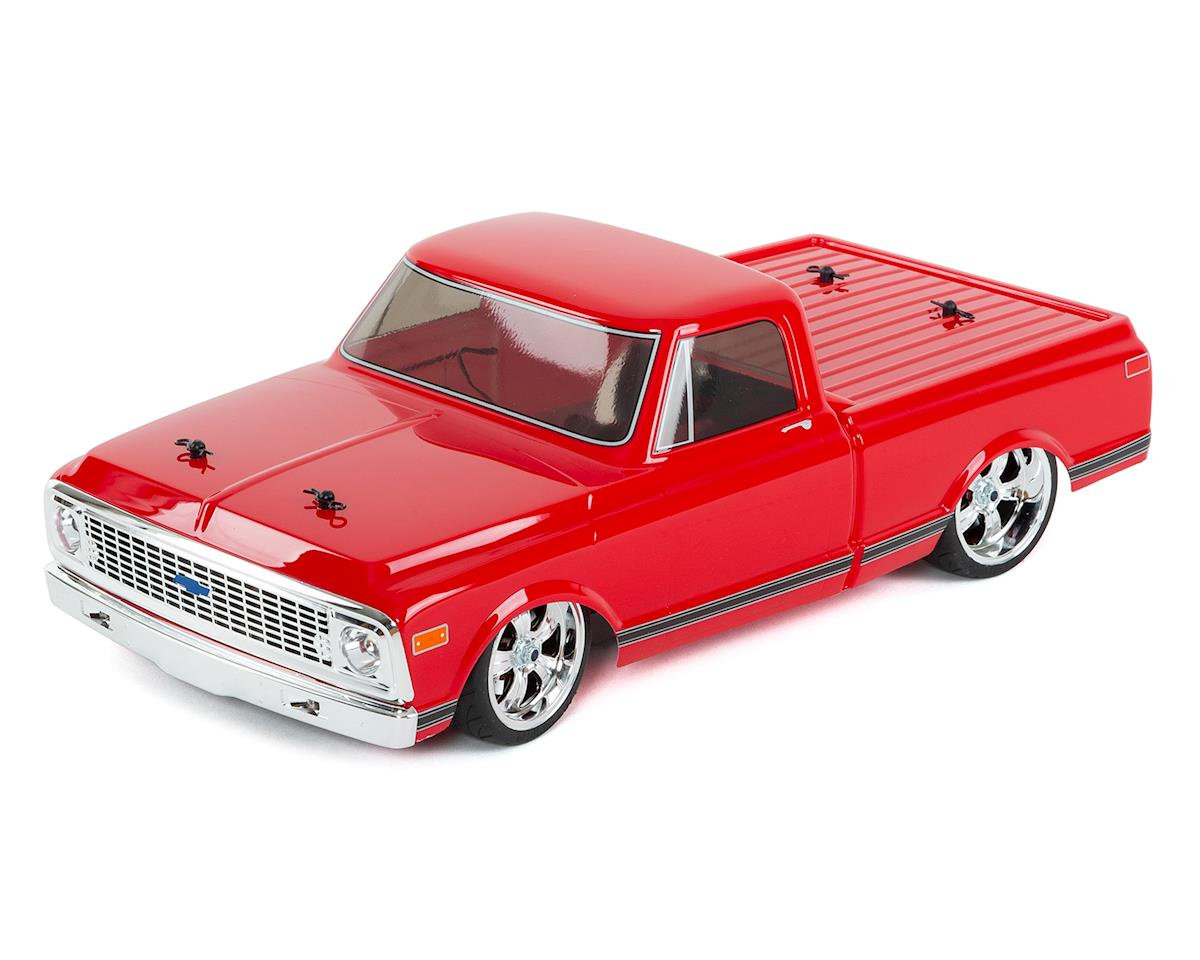 1972 Chevy C10 V100S RTR 1/10 4WD Electric Pickup Truck (Red) by Vaterra