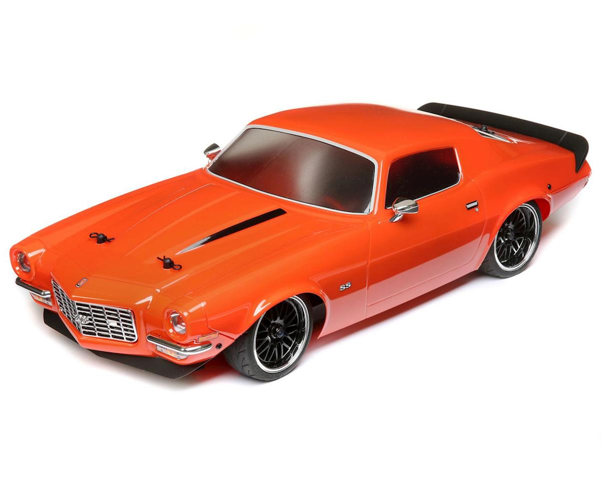 Vaterra 1972 Chevy Camaro SS V100 RTR 1/10 4WD Electric 4WD On-Road Car (Orange)