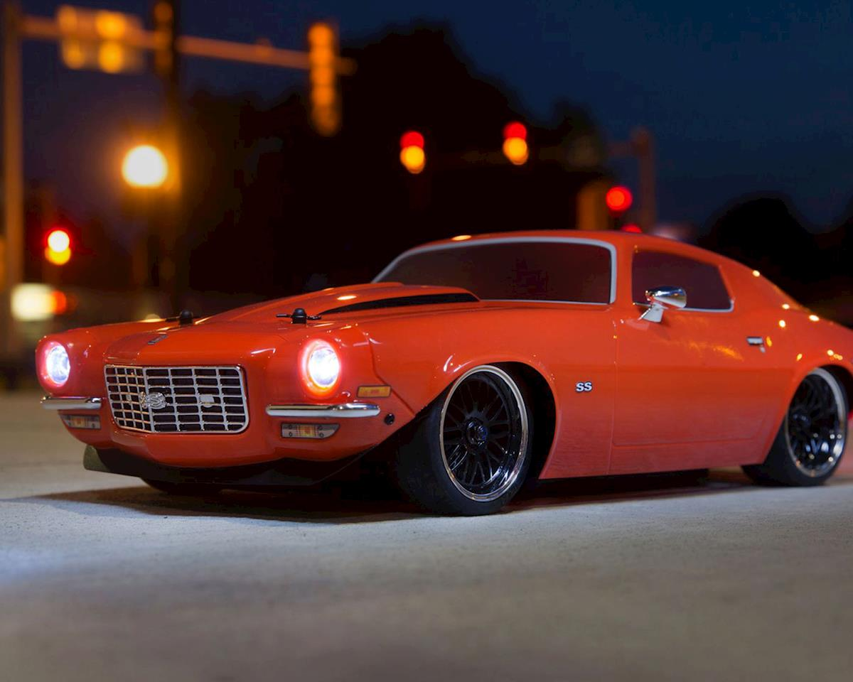 Image 2 for Vaterra 1972 Chevy Camaro SS V100 RTR 1/10 4WD Electric 4WD On-Road Car (Orange)