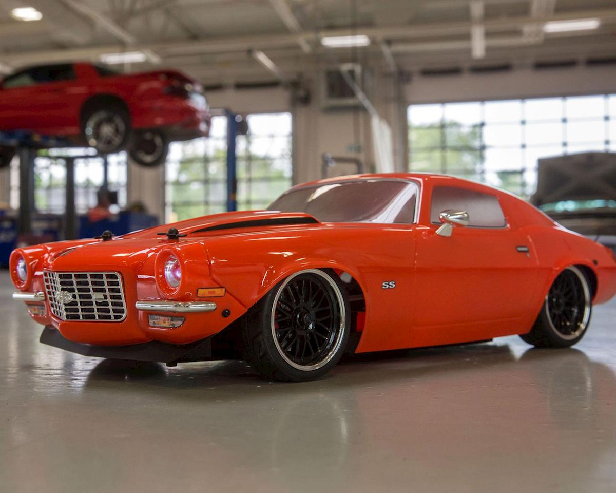 Image 6 for Vaterra 1972 Chevy Camaro SS V100 RTR 1/10 4WD Electric 4WD On-Road Car (Orange)