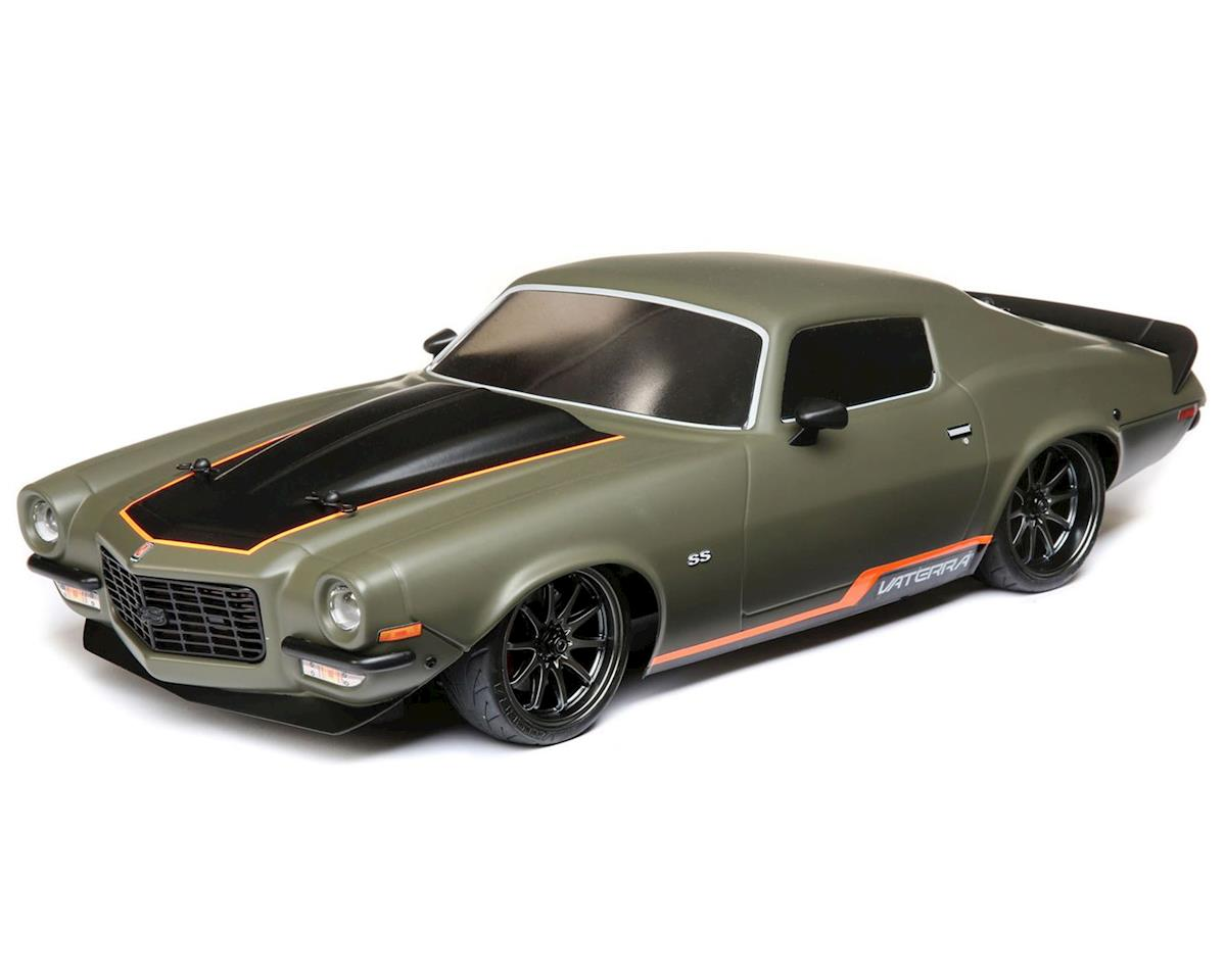 1972 Chevy Camaro SS V100 RTR 1/10 4WD Electric 4WD On-Road Car (Green)