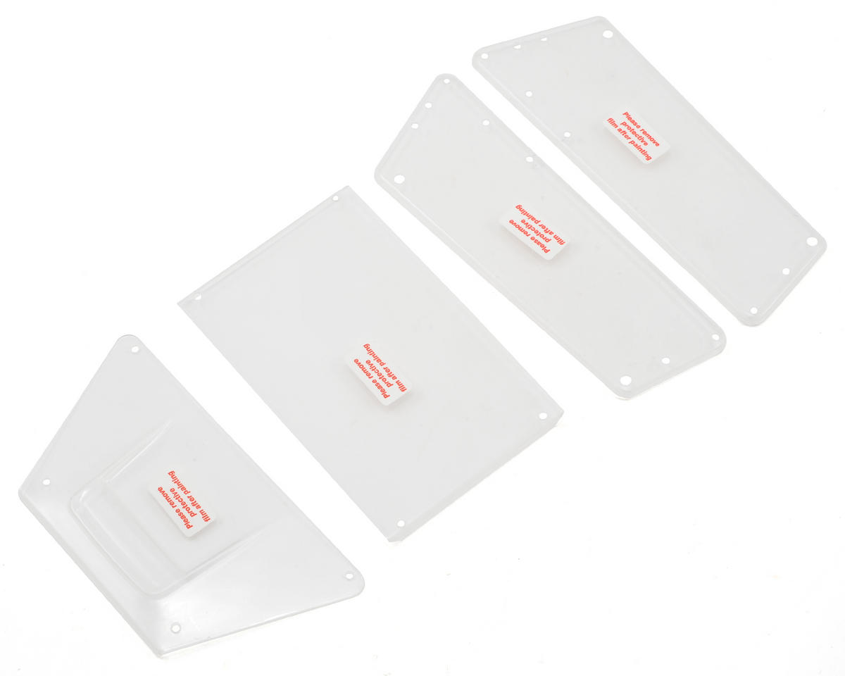 Vaterra Slickrock Body Panel Set (Clear)