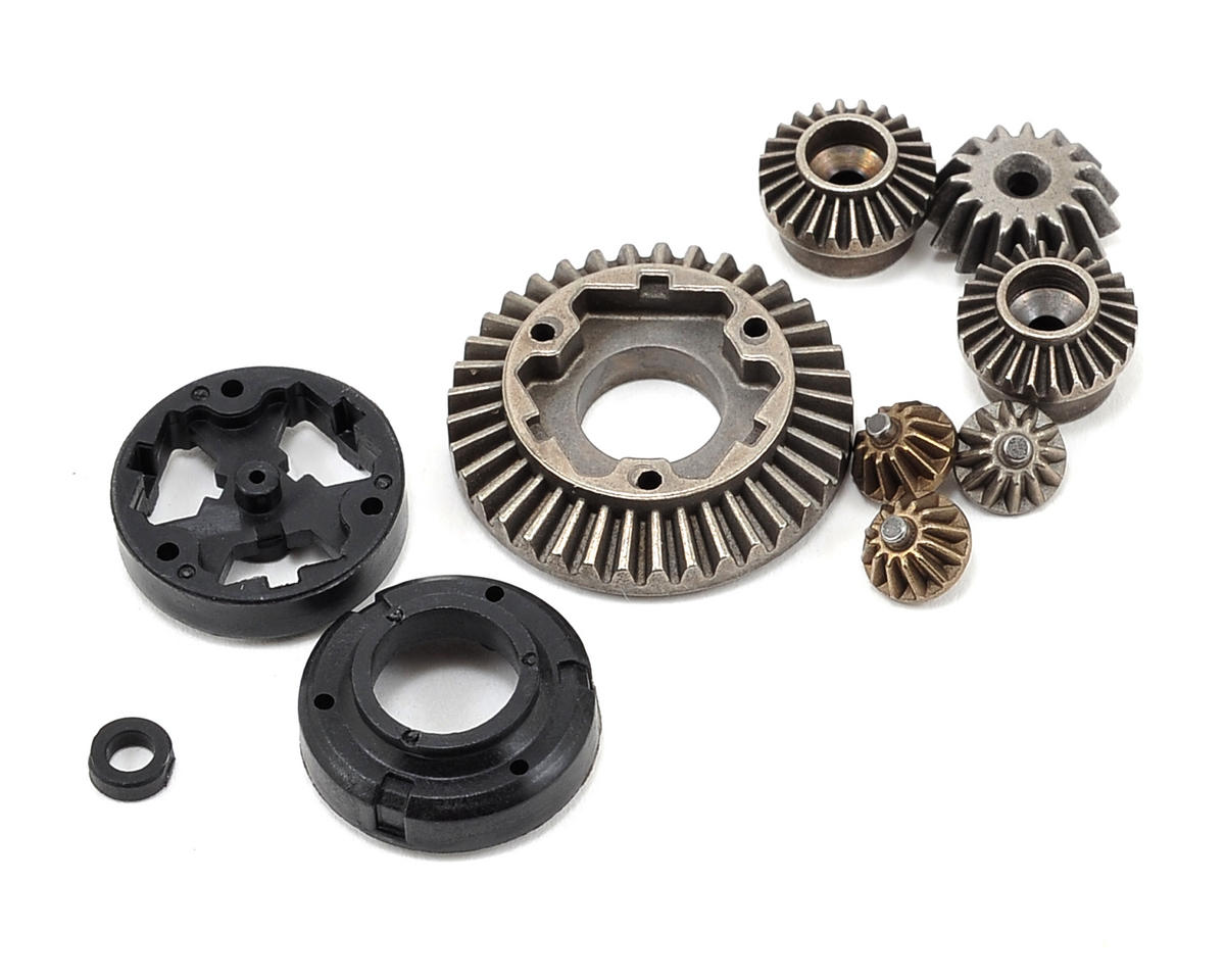 Vaterra Differential Gear, Housing & Spacer Set (Losi Mini Desert Truck 4wd)