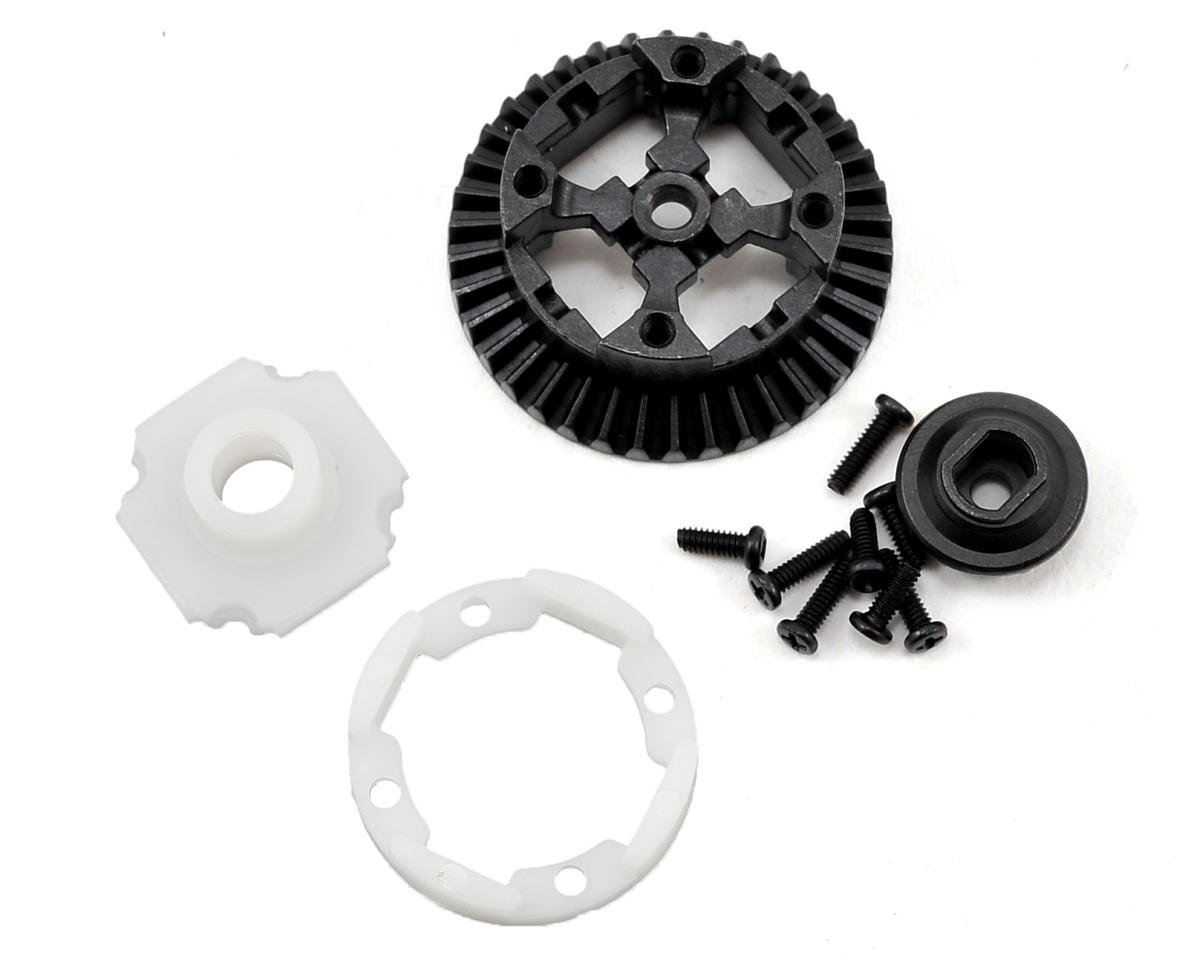 Vaterra Front/Rear Metal Differential Housing Set