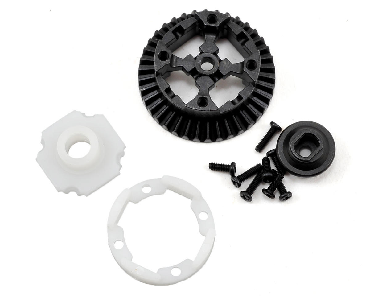 Front/Rear Metal Differential Housing Set by Vaterra