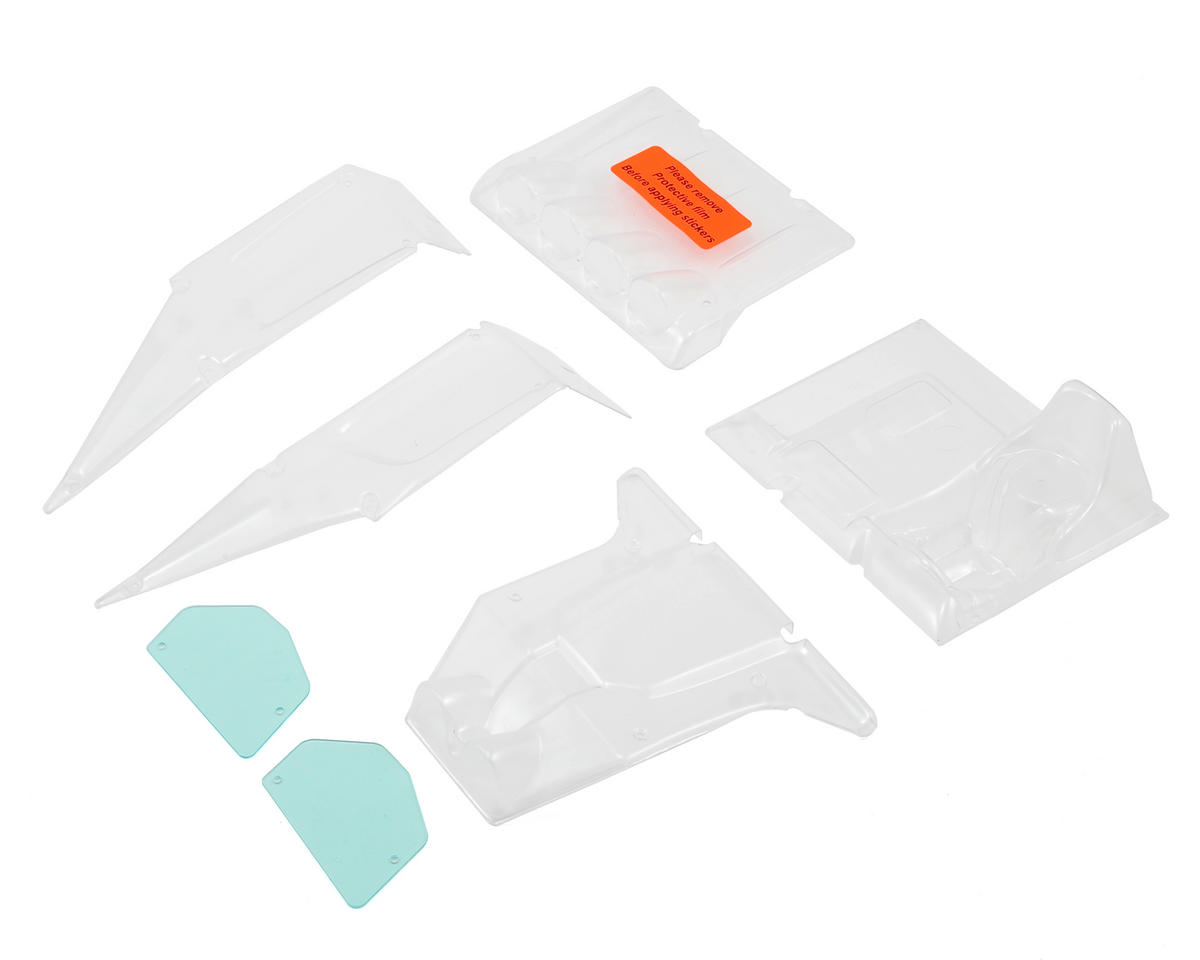 Twin Hammers Body Panel Set (Clear) by Vaterra