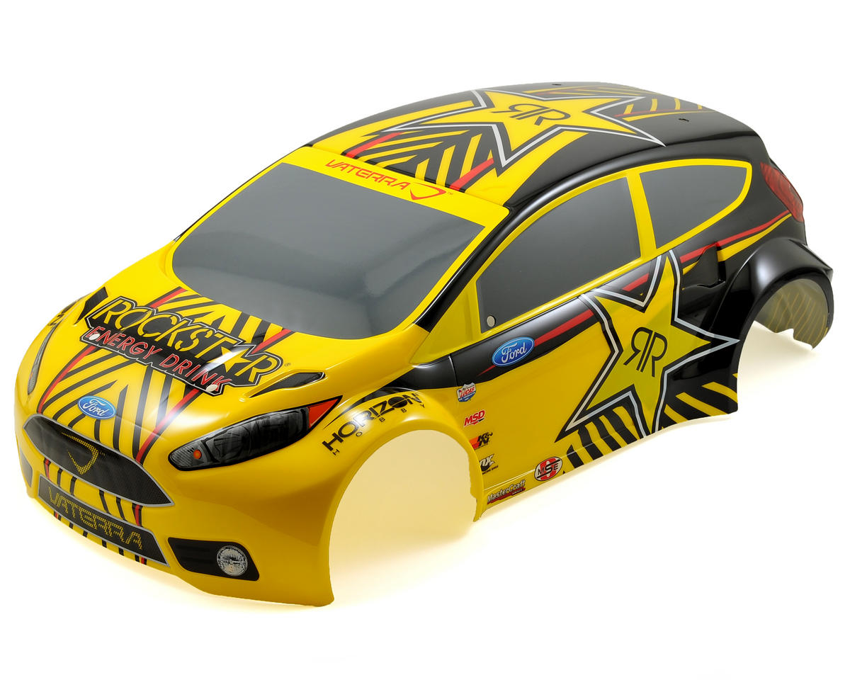 Vaterra Ford Fiesta RallyCross Pre-Painted Body