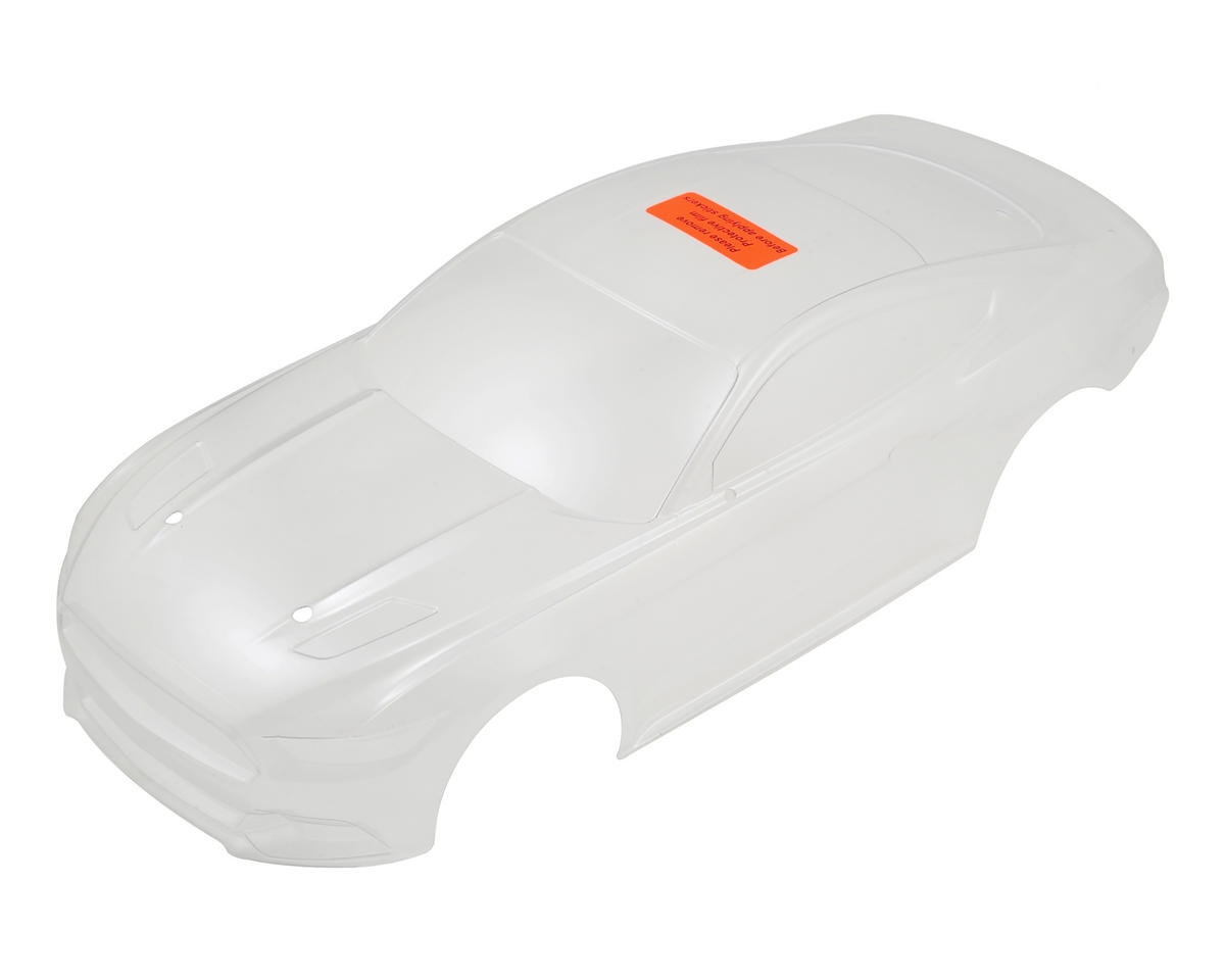 Vaterra V100S 2015 Ford Mustang Body Set (Clear)