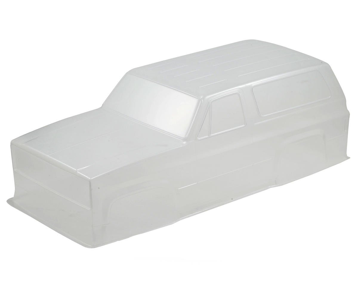 Vaterra Chevy Blazer K5 4X4 Body Set (Clear)