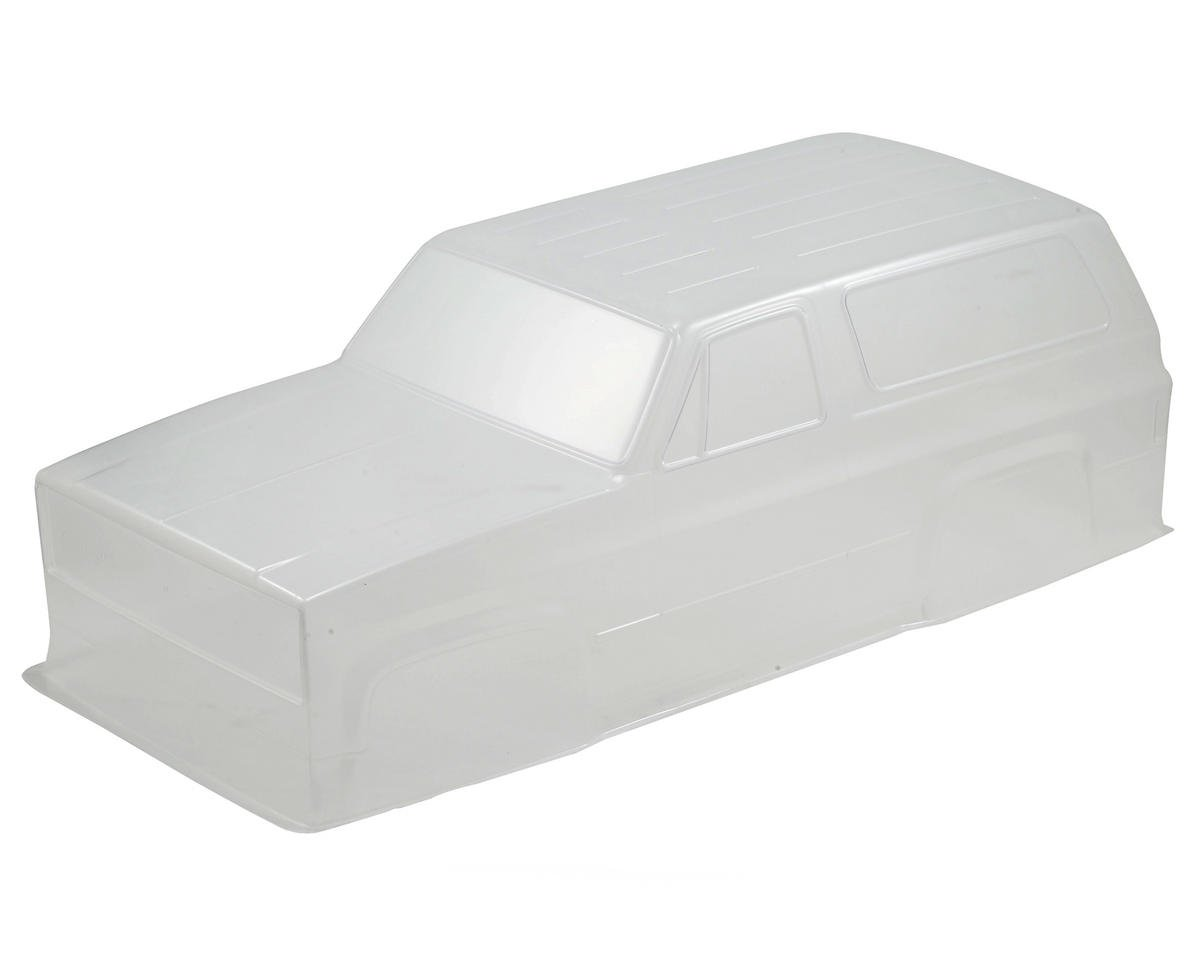 Chevy Blazer K5 4X4 Body Set (Clear) by Vaterra