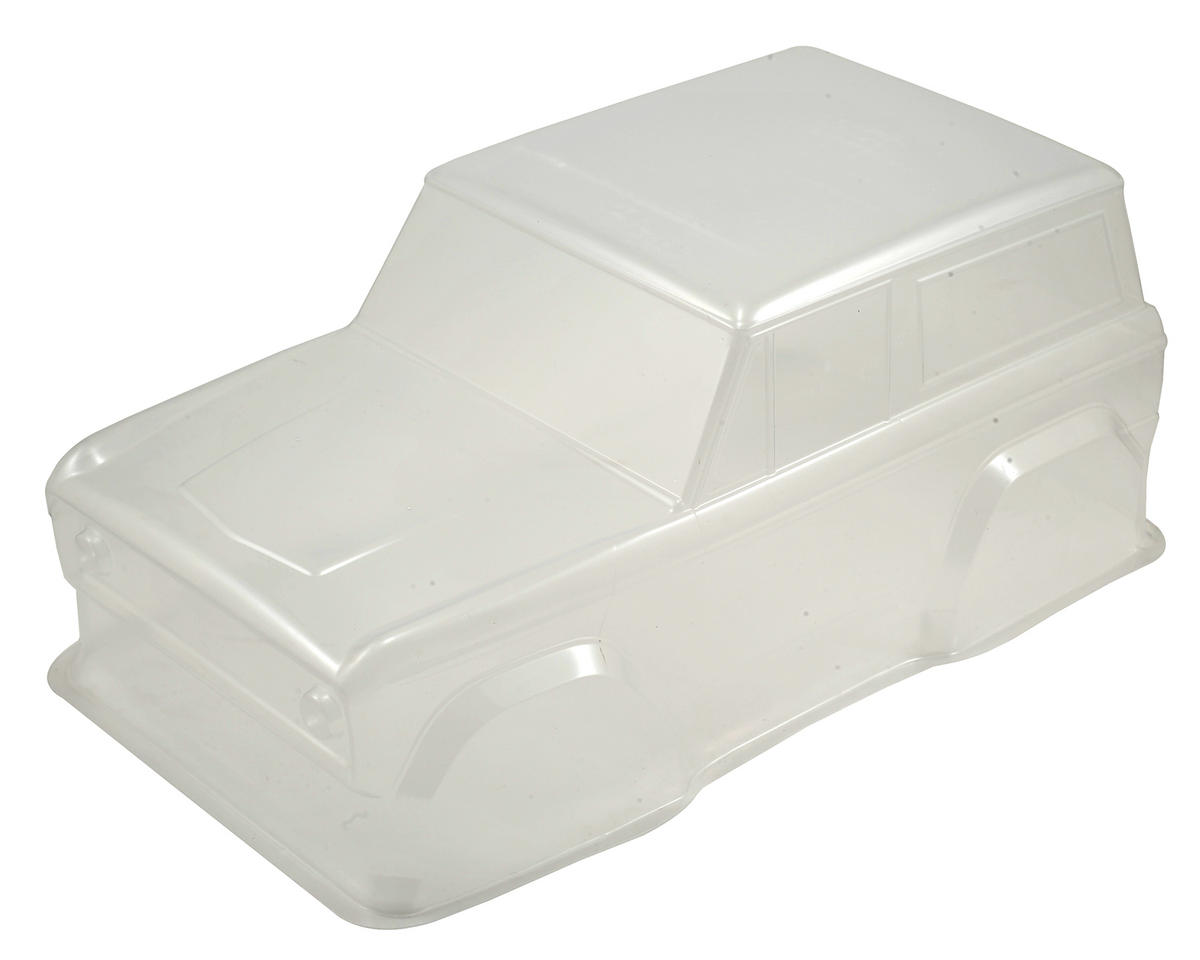 Vaterra 72 Ford Bronco Body Set (Clear)