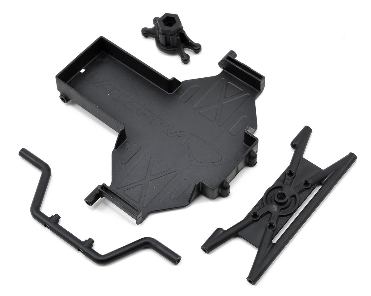 Battery Tray & Spare Tire Mount Set by Vaterra