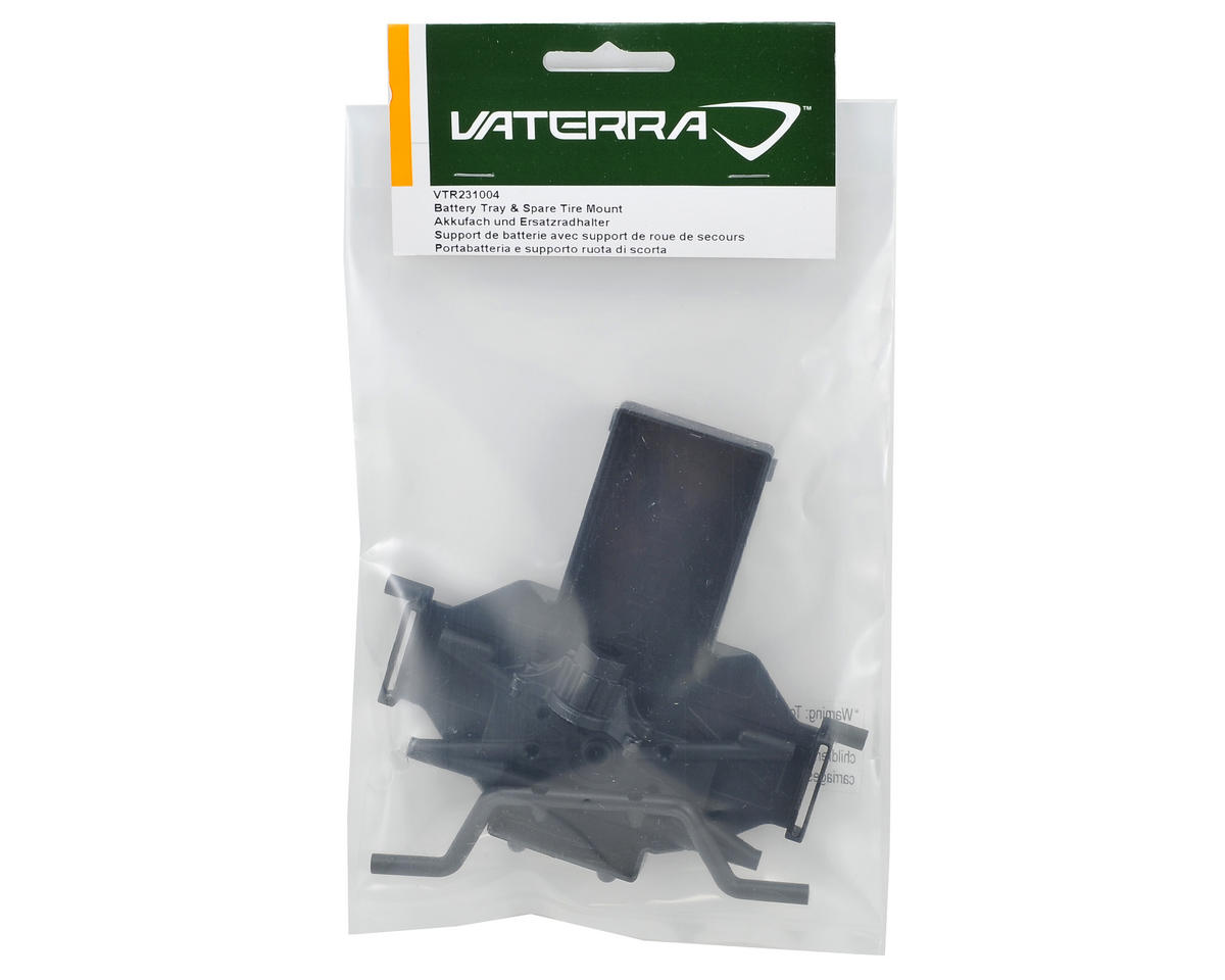 Vaterra Battery Tray & Spare Tire Mount Set