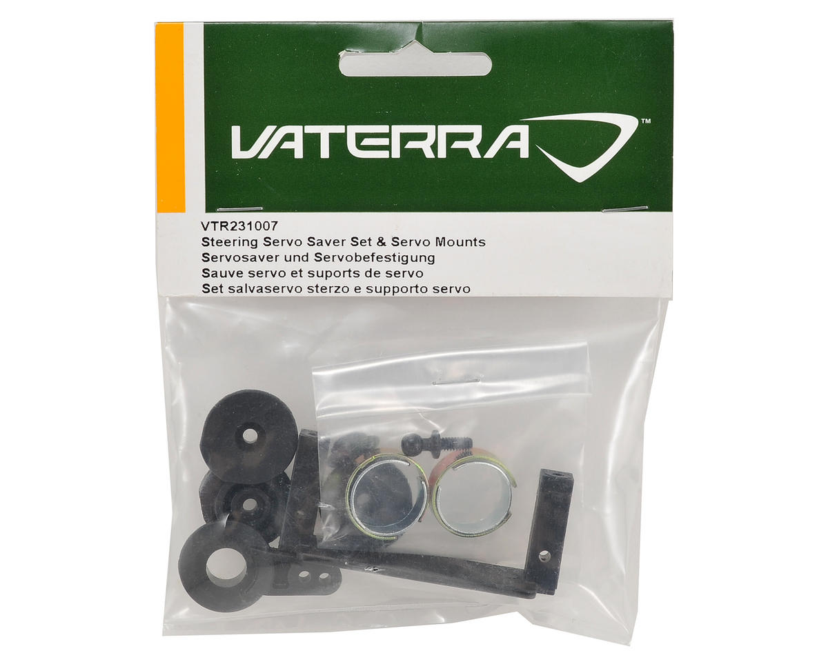 Steering Servo Saver & Servo Mount Set by Vaterra