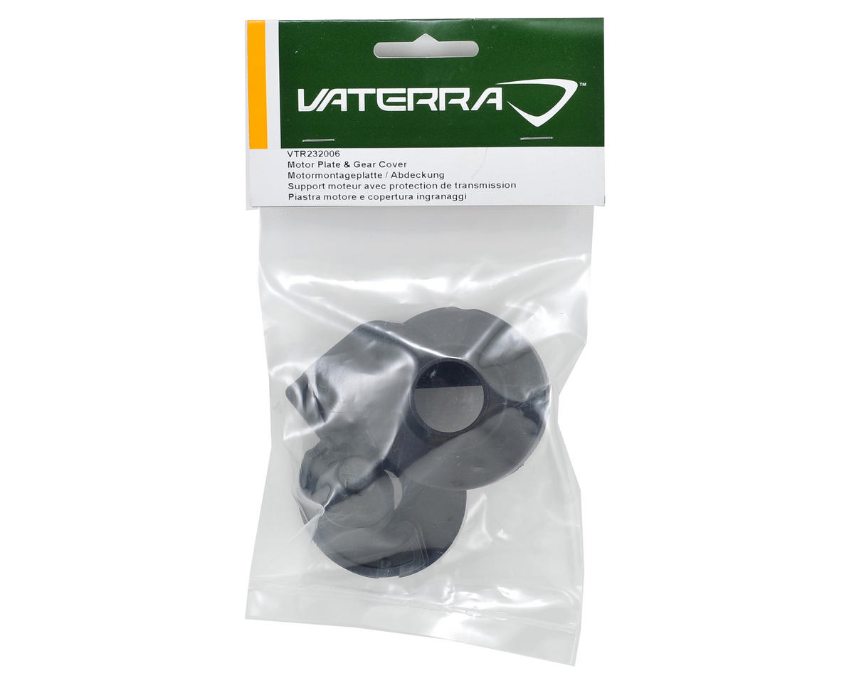 Vaterra Motor Plate & Gear Cover Set