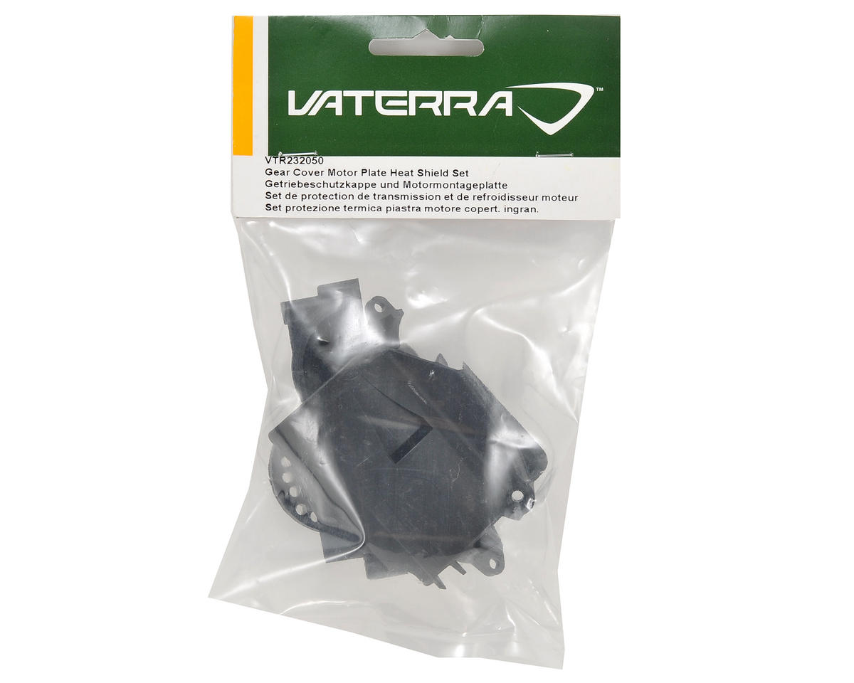 Gear Cover Motor Plate Heat Shield Set by Vaterra