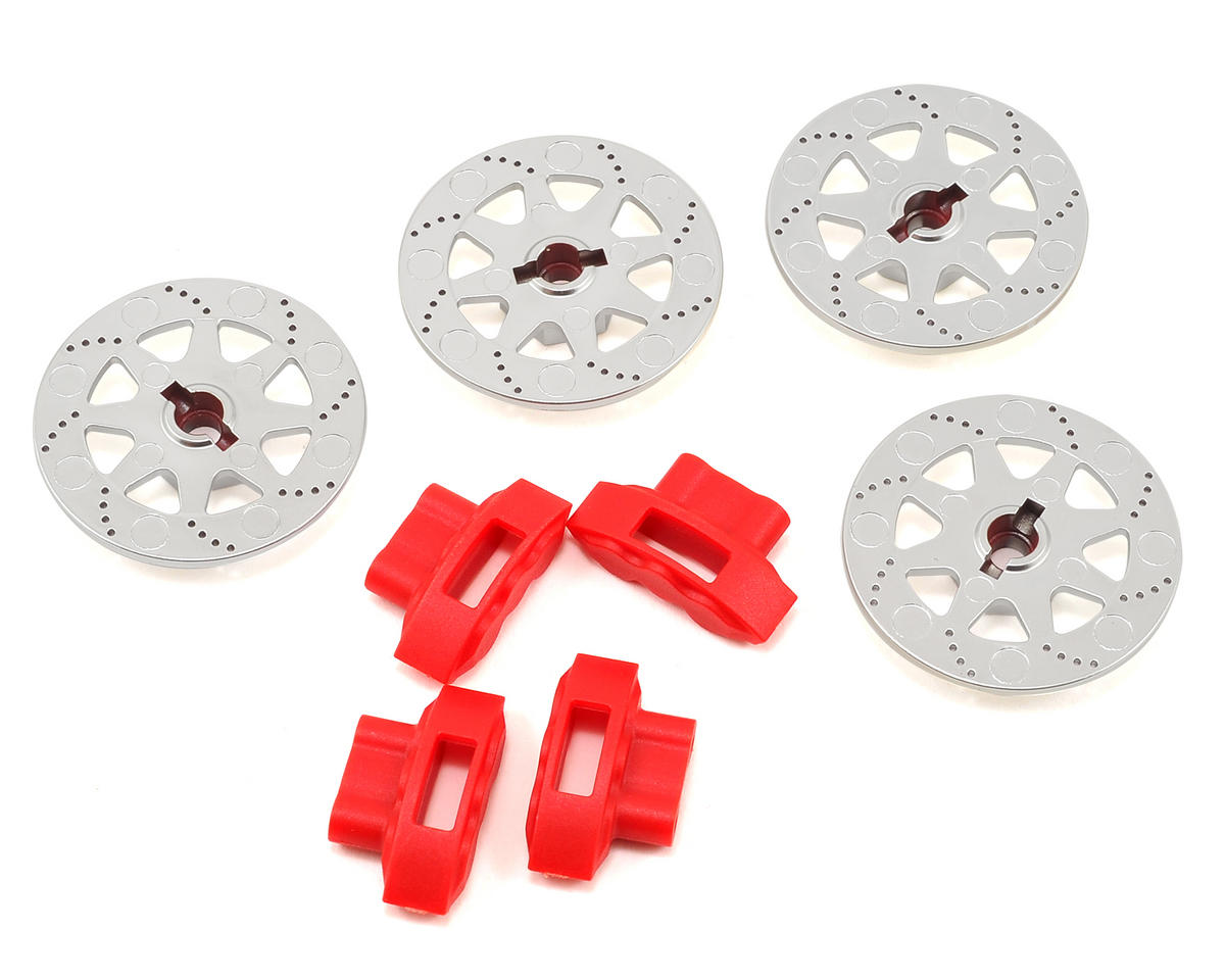 Wheel Hex Brake Rotor & Caliper Set